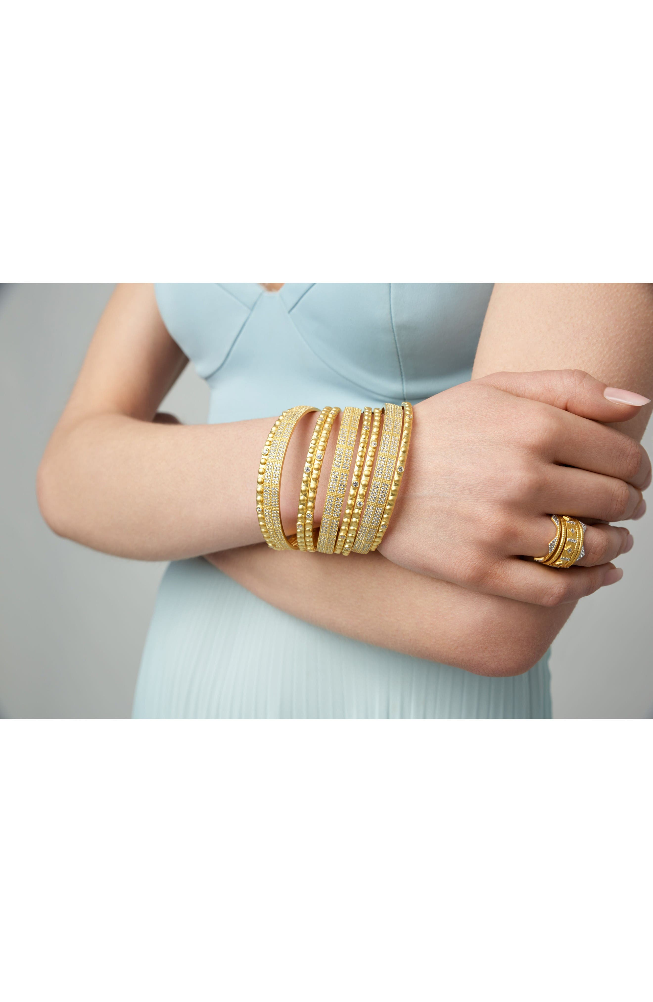 Alternate Image 2  - FREIDA ROTHMAN Amazonian Allure Set of 3 Pavé Bangles