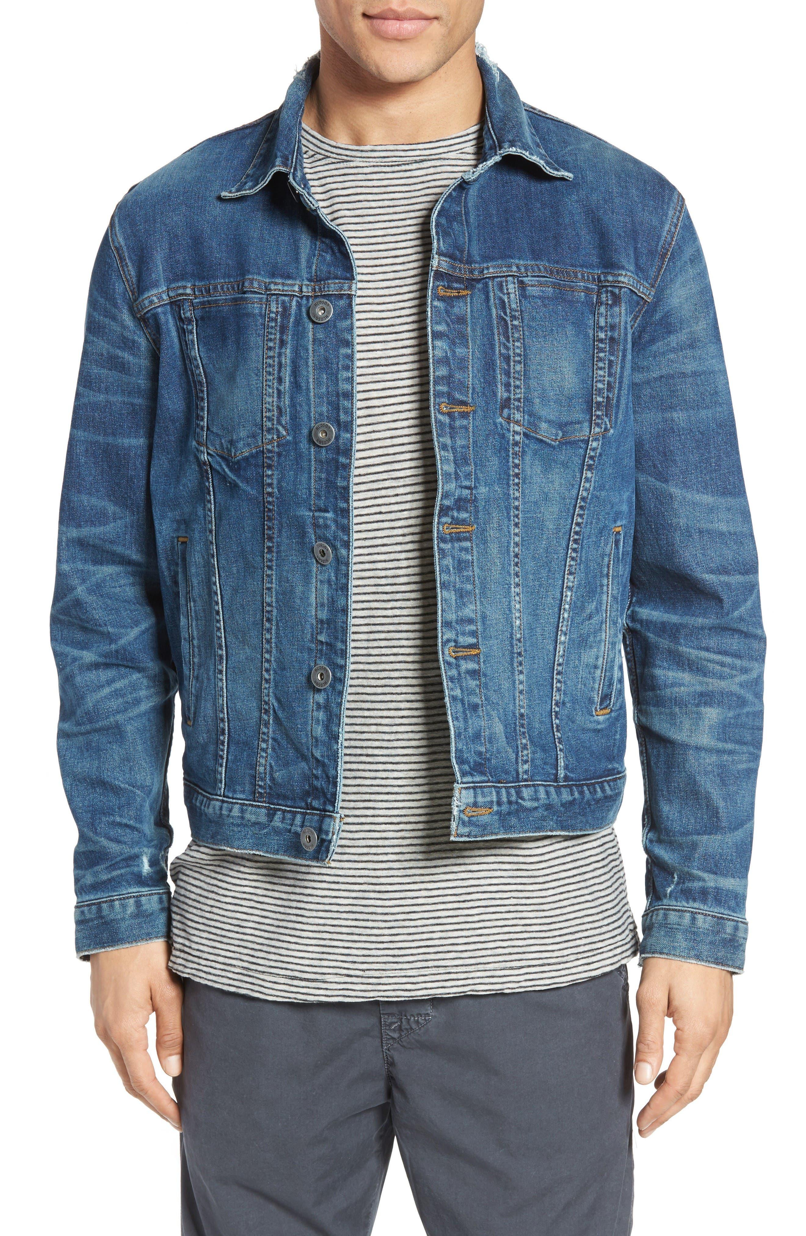 Broc Denim Jacket,                         Main,                         color, Aspirant