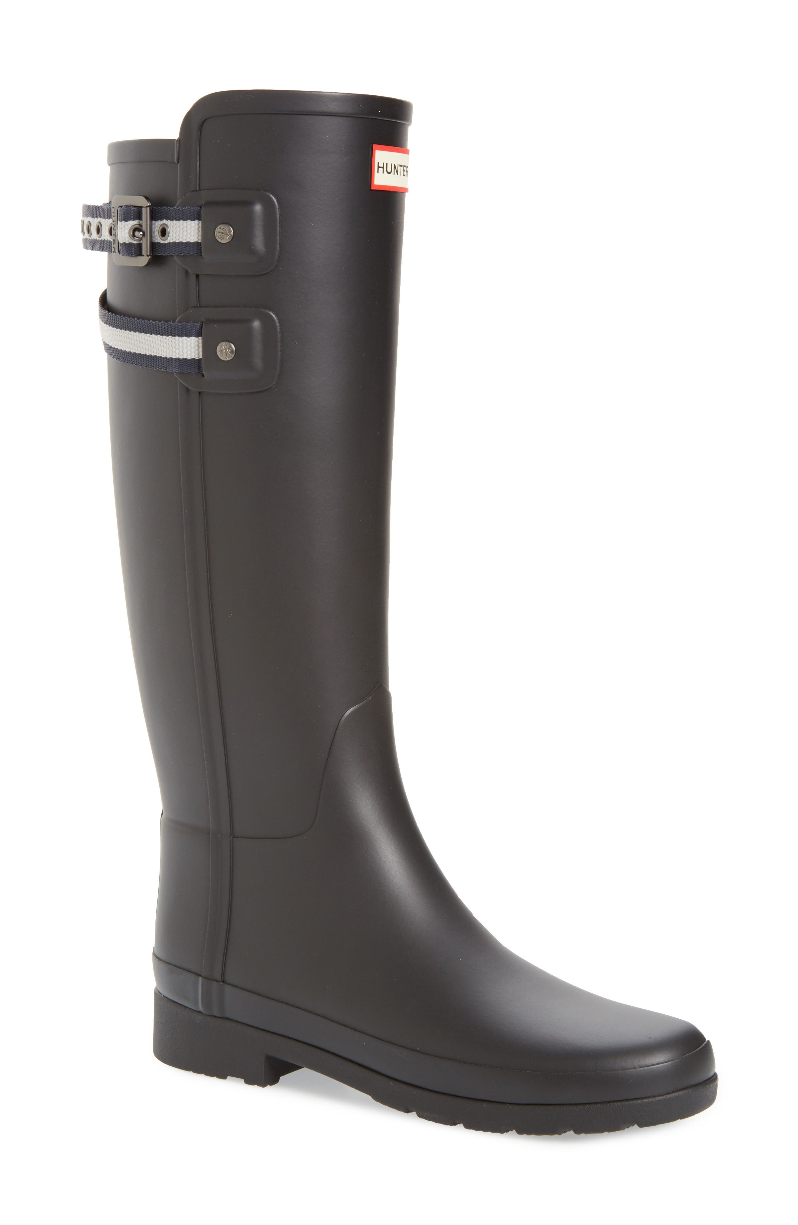 Hunter Original Refined Matte Rain Boot (Women)