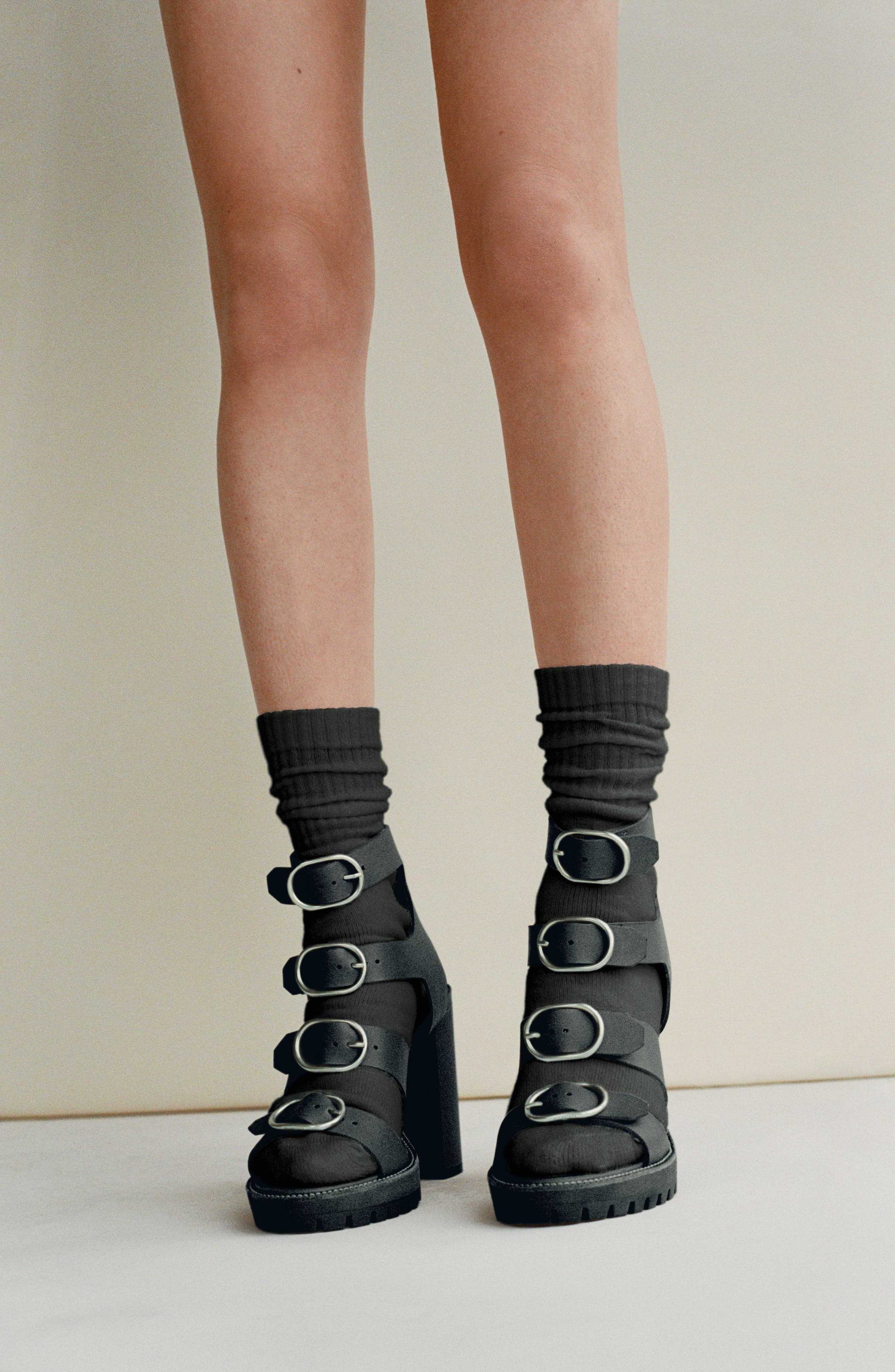 Alternate Image 5  - ALLSAINTS Osuna Block Heel Sandal (Women)