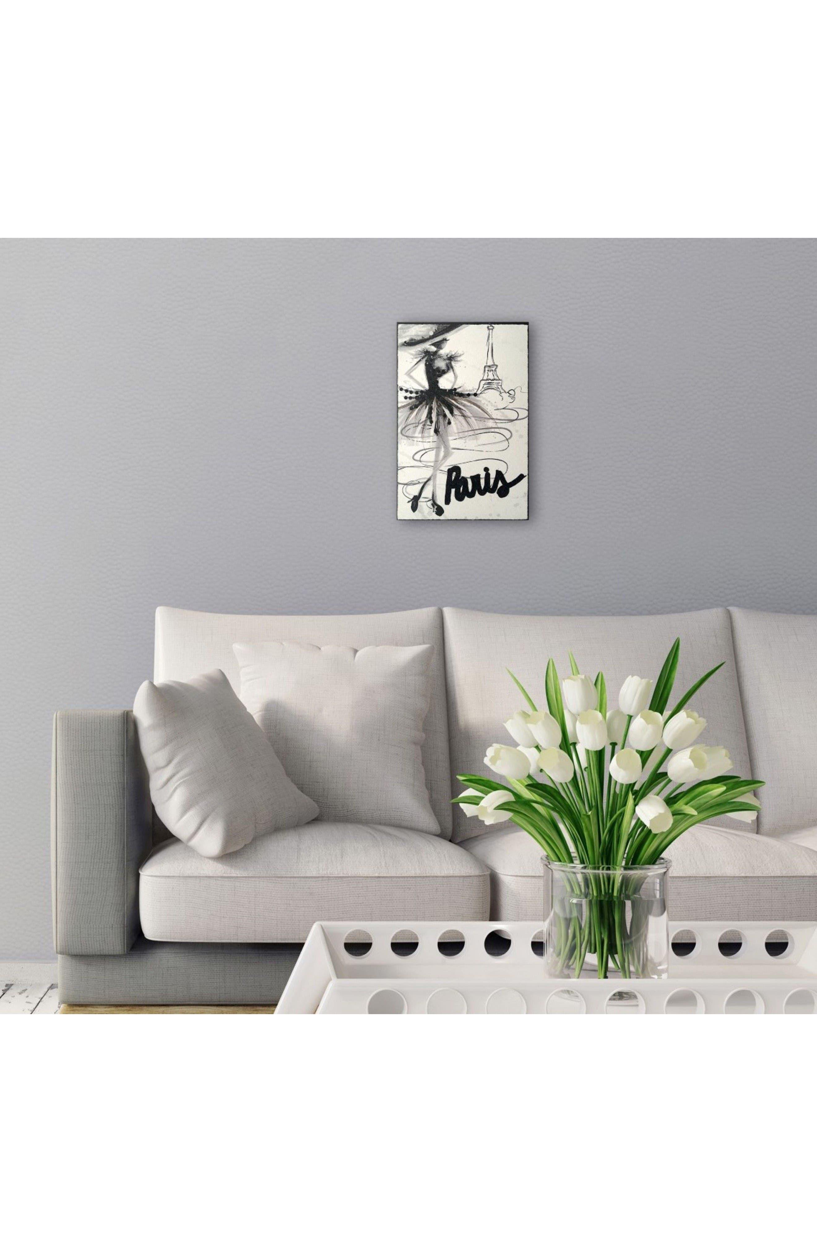 Alternate Image 2  - Wynwood Fashion Doll Paris Canvas Wall Art