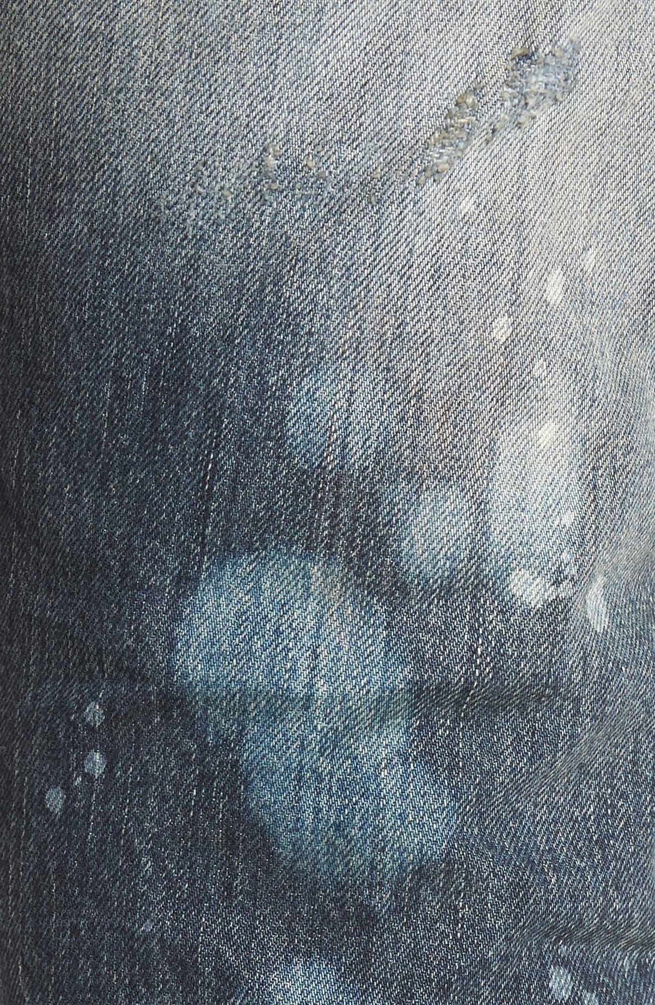 Alternate Image 5  - PRPS Demon Slim Straight Leg Jeans
