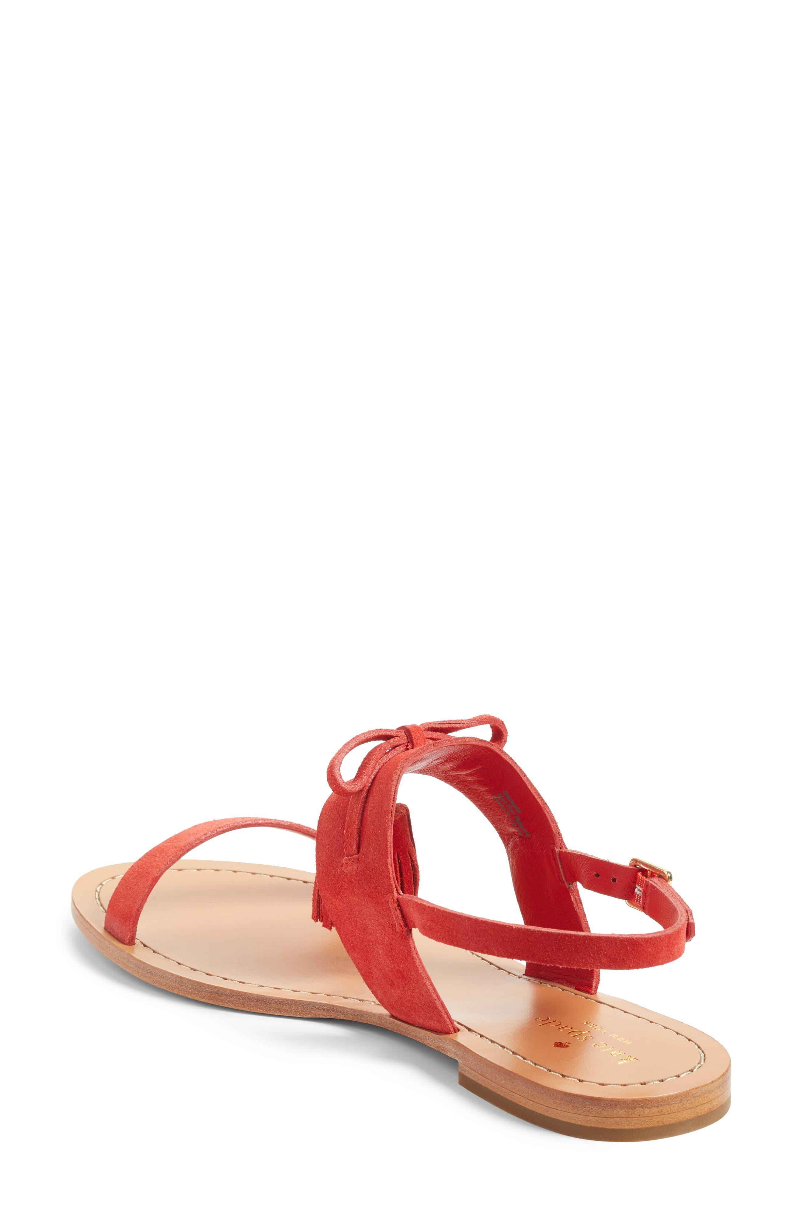 Alternate Image 2  - kate spade new york carlita tassel sandal (Women)