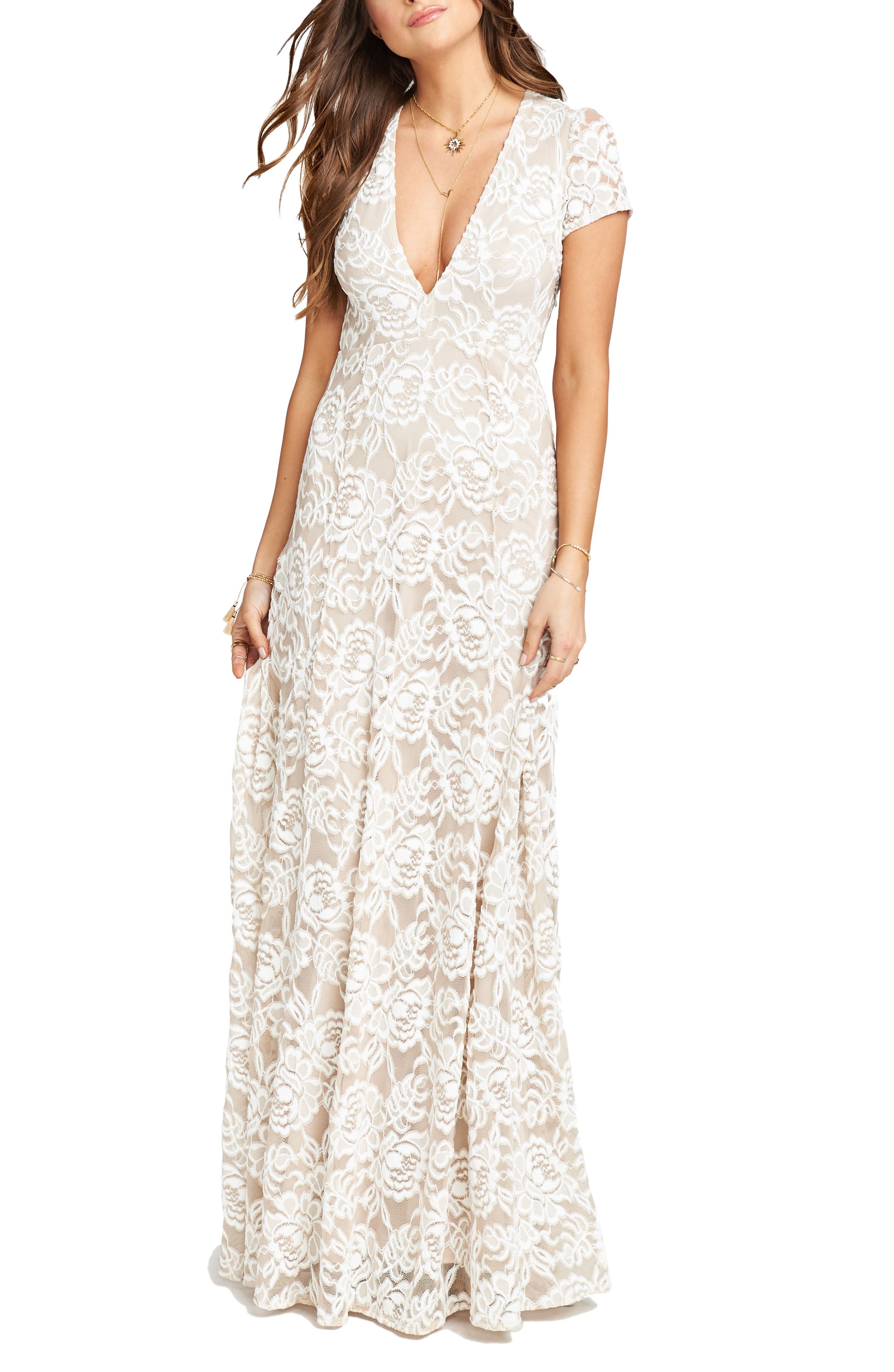 Show Me Your Mumu Eleanor Lace Gown