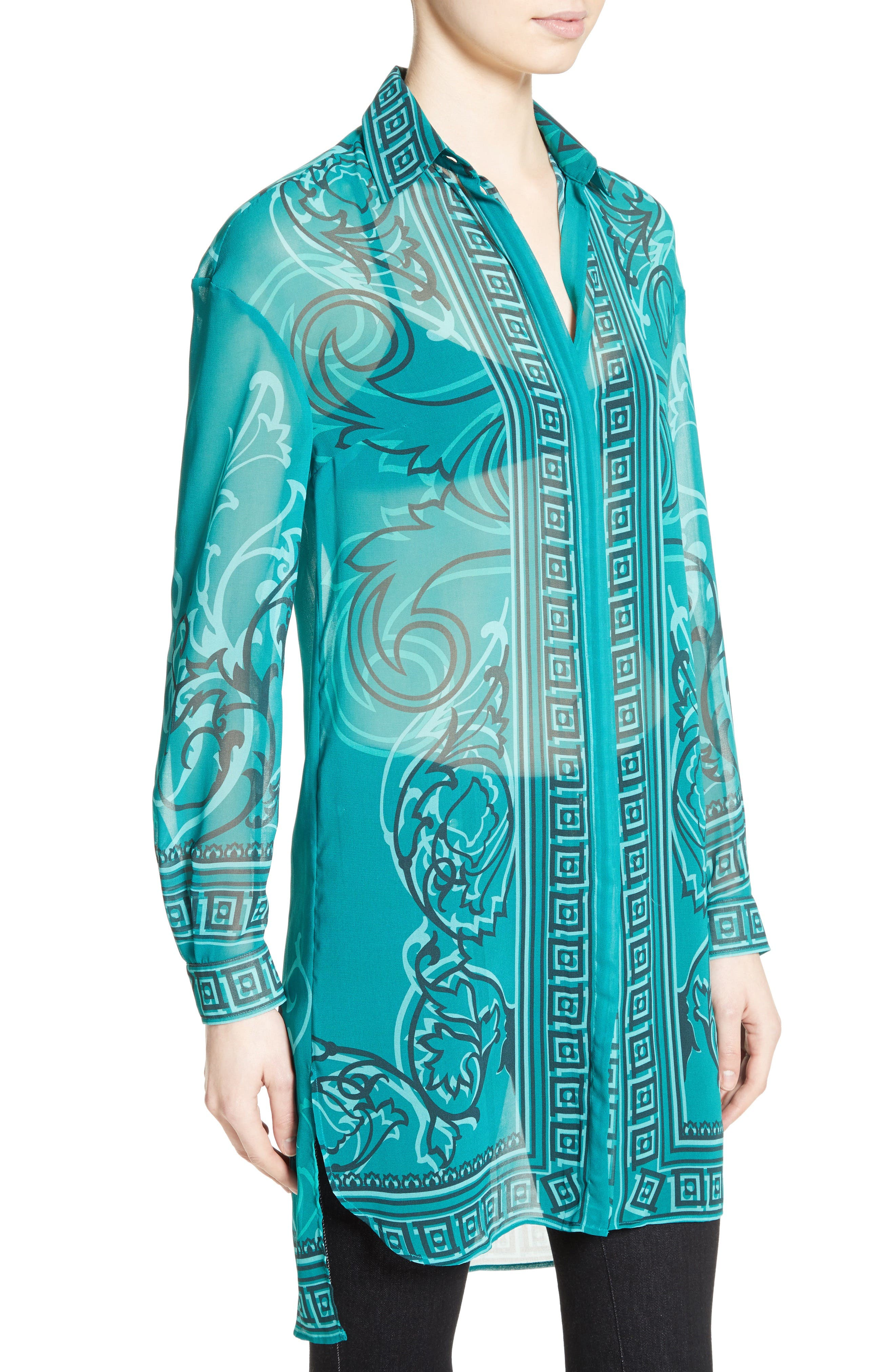 Alternate Image 6  - Versace Collection Baroque Print Tunic