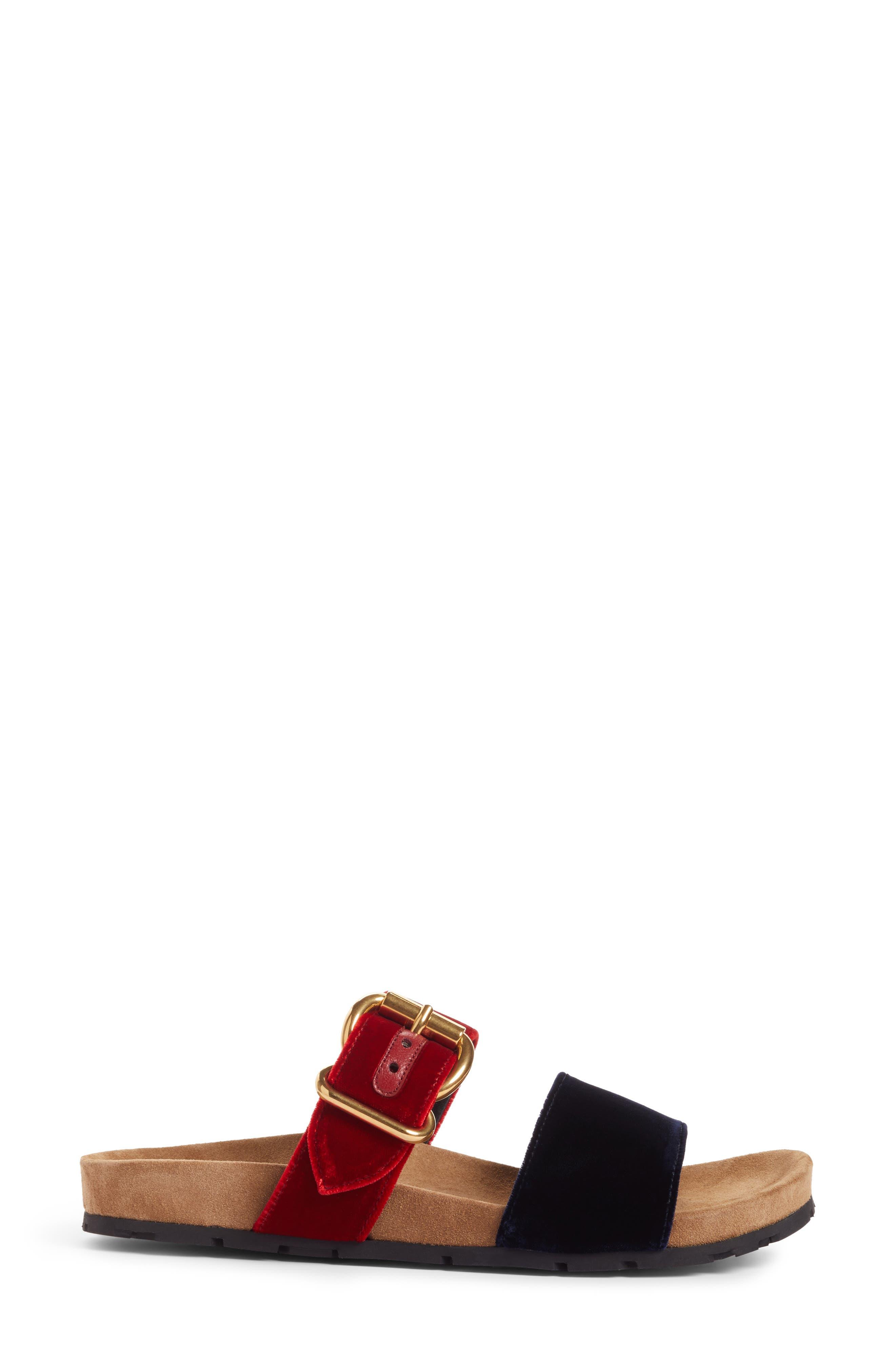 Alternate Image 3  - Prada Double Band Slide Sandal (Women)
