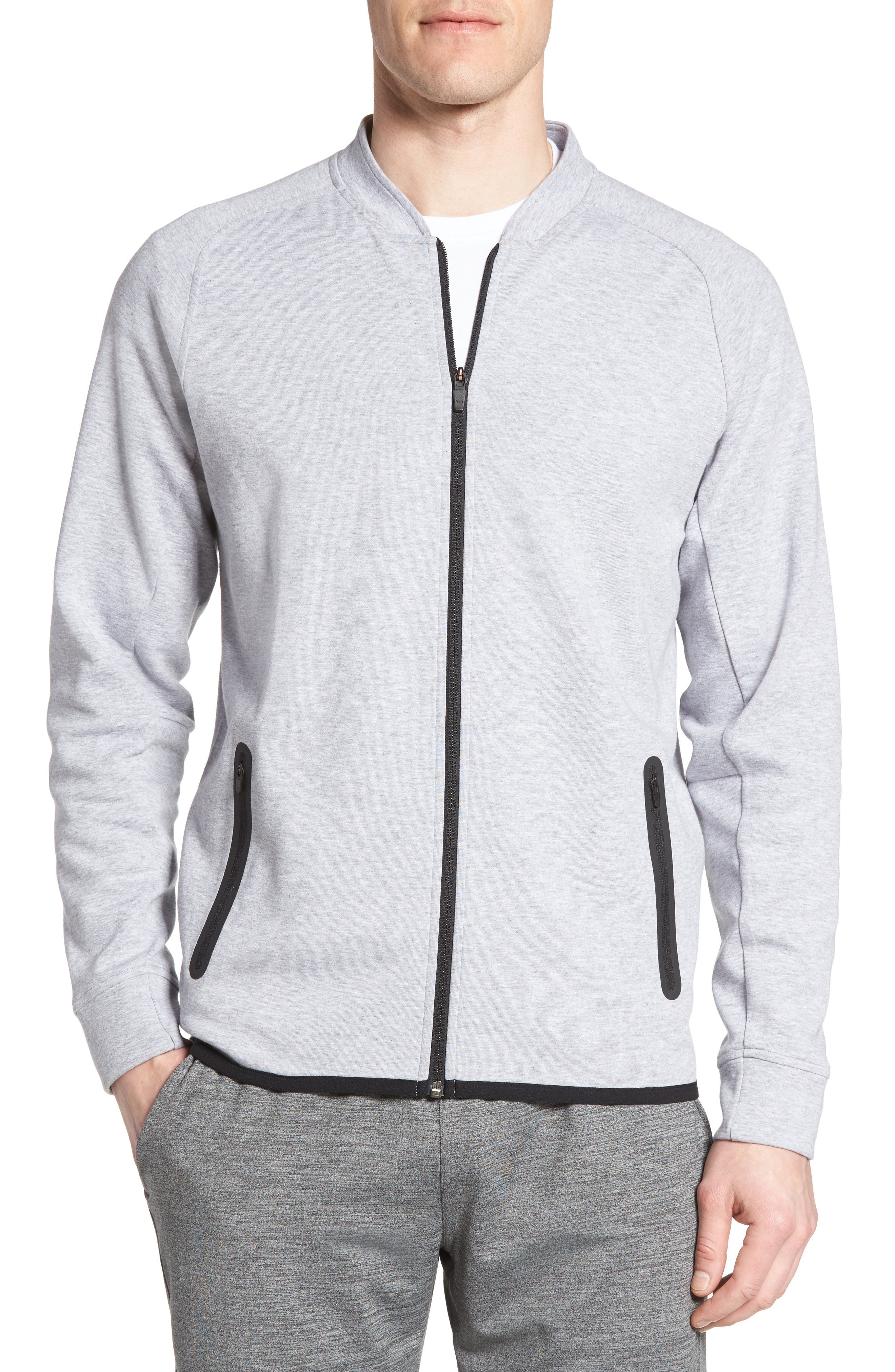 Zella Knit Bomber Jacket