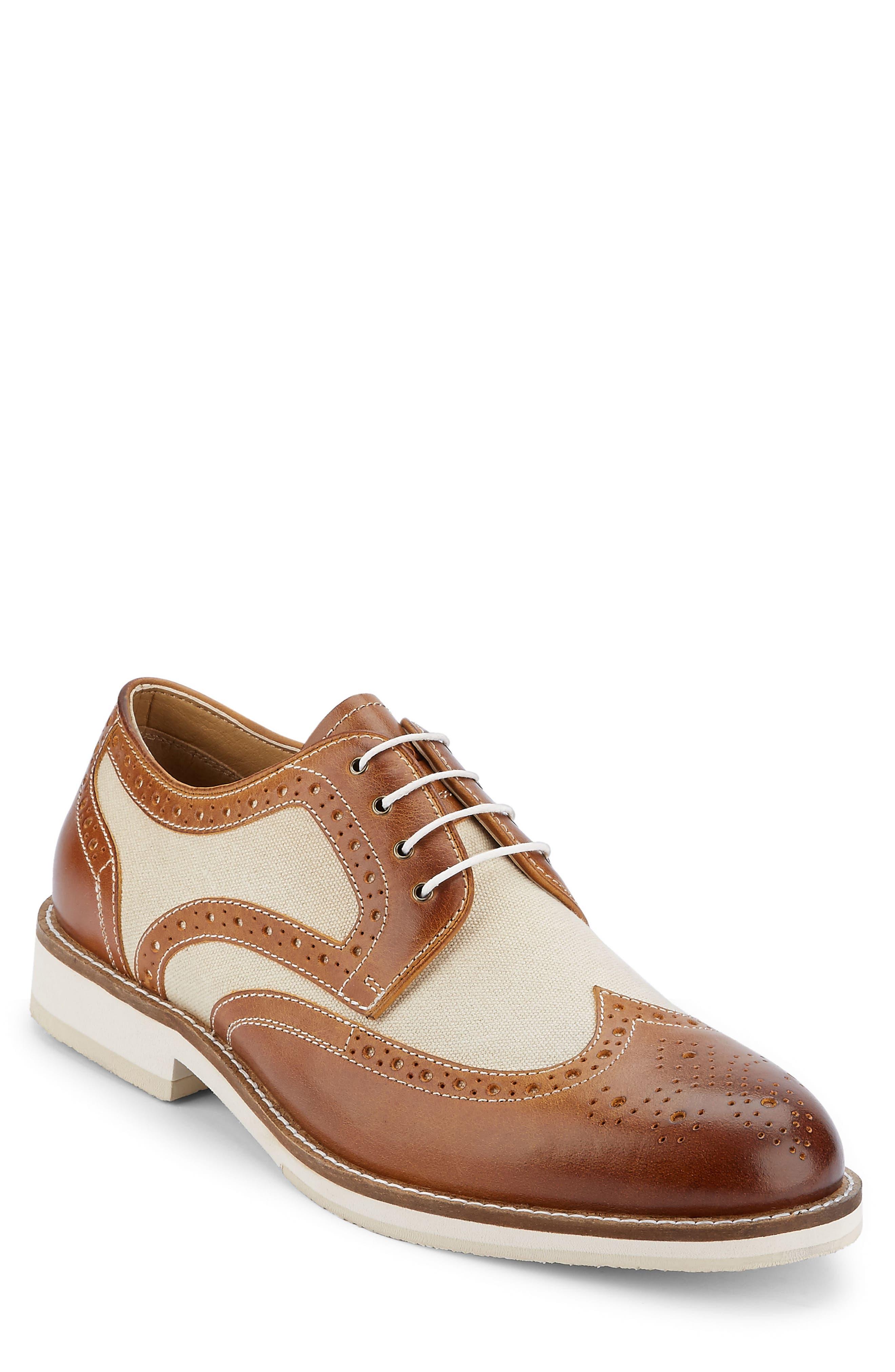 Main Image - G.H. Bass & Co. Norman Spectator Shoe (Men)