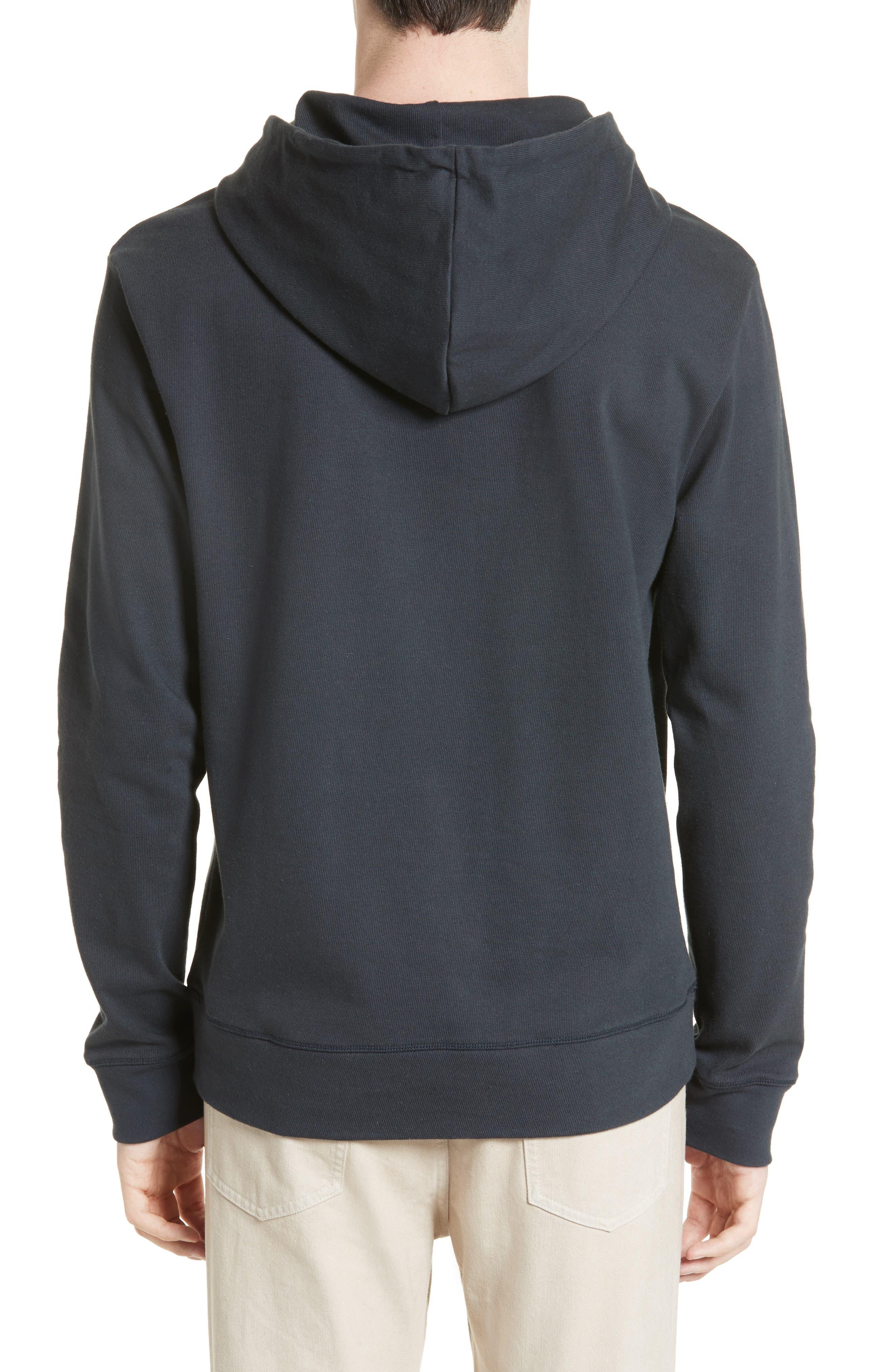 Alternate Image 2  - A.P.C. Brody Hooded Sweatshirt