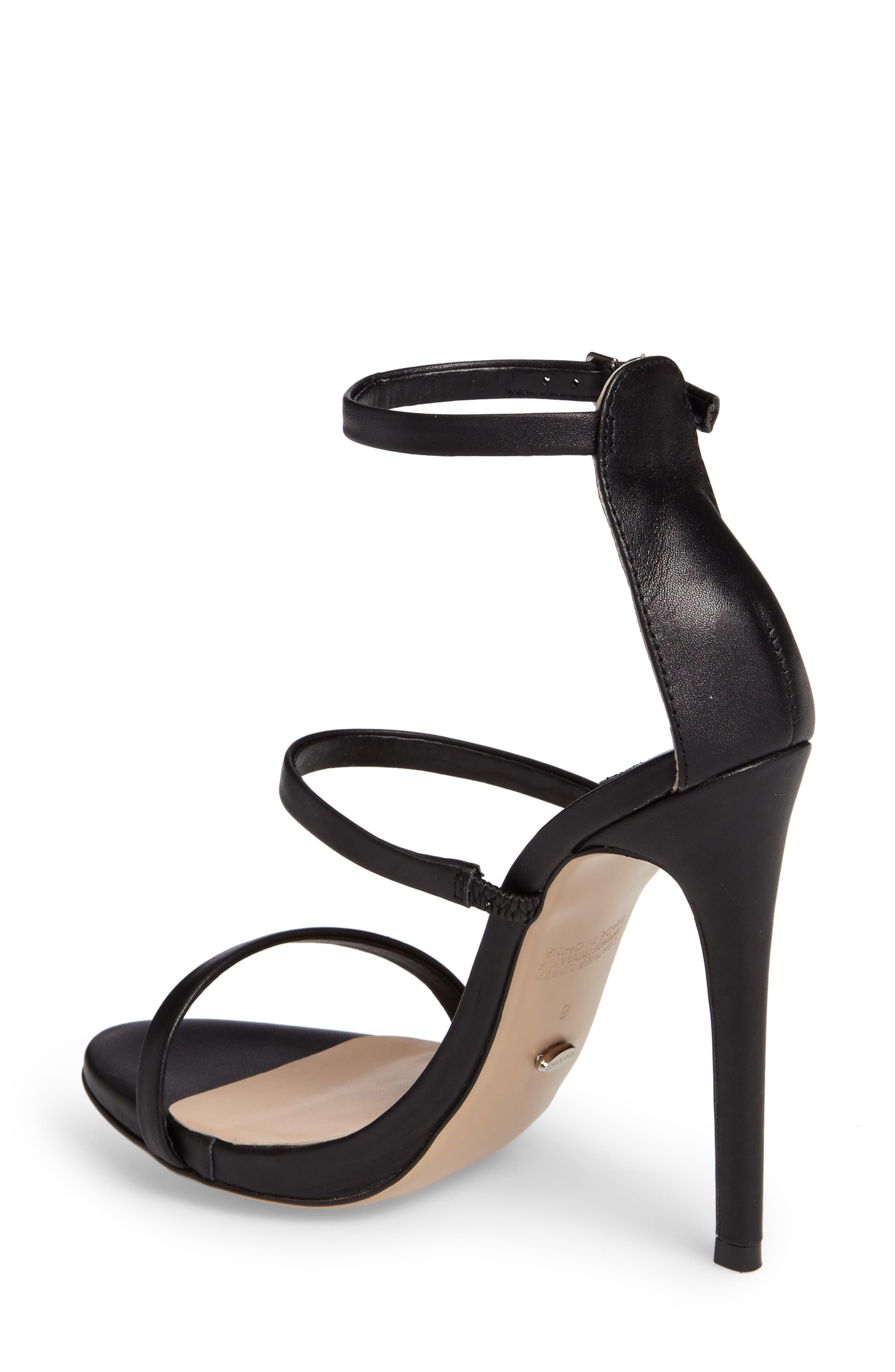 Atkins Sandal,                             Alternate thumbnail 2, color,                             Black Capretto Leather