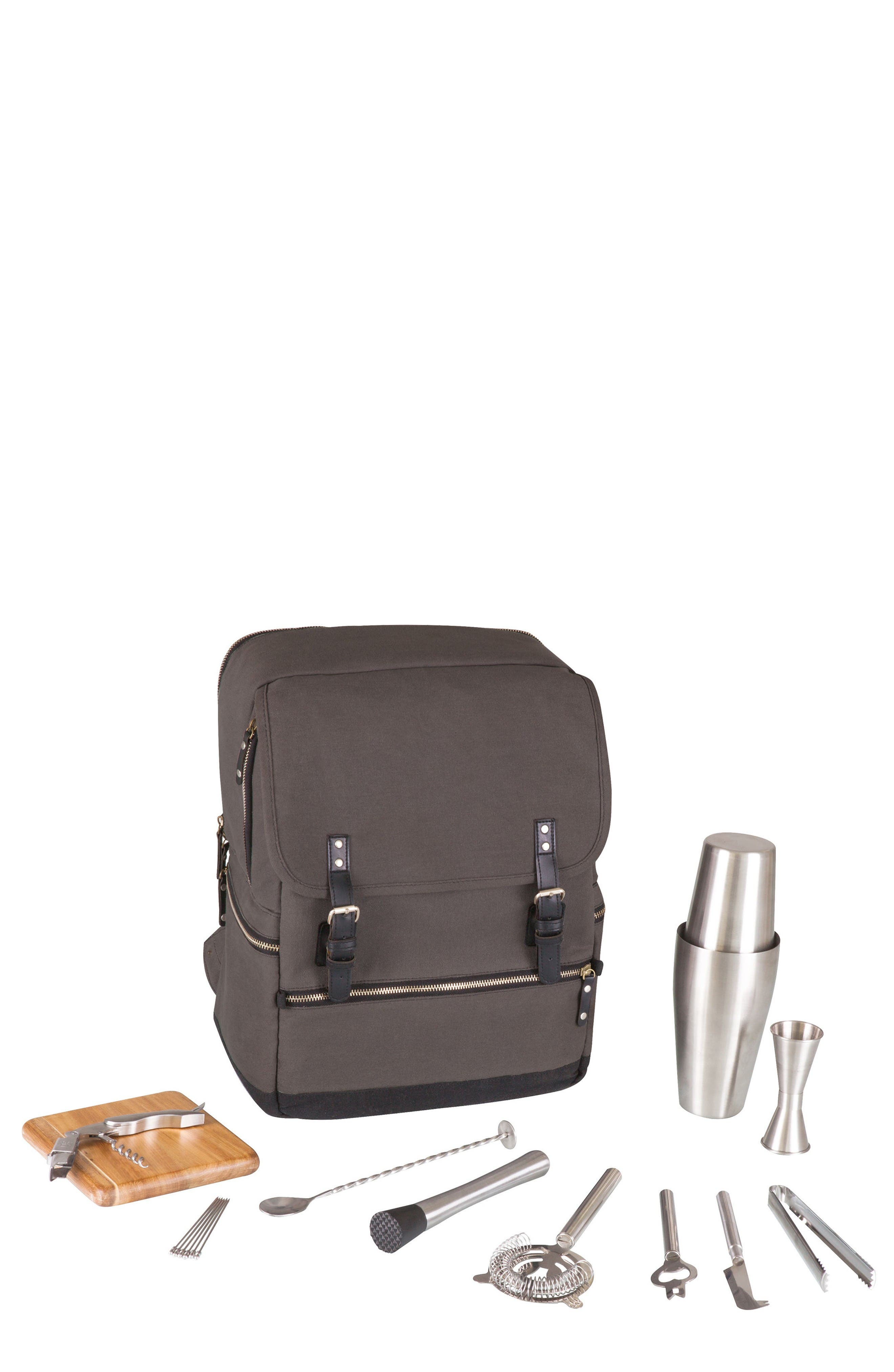 Bar Backpack,                         Main,                         color, Grey
