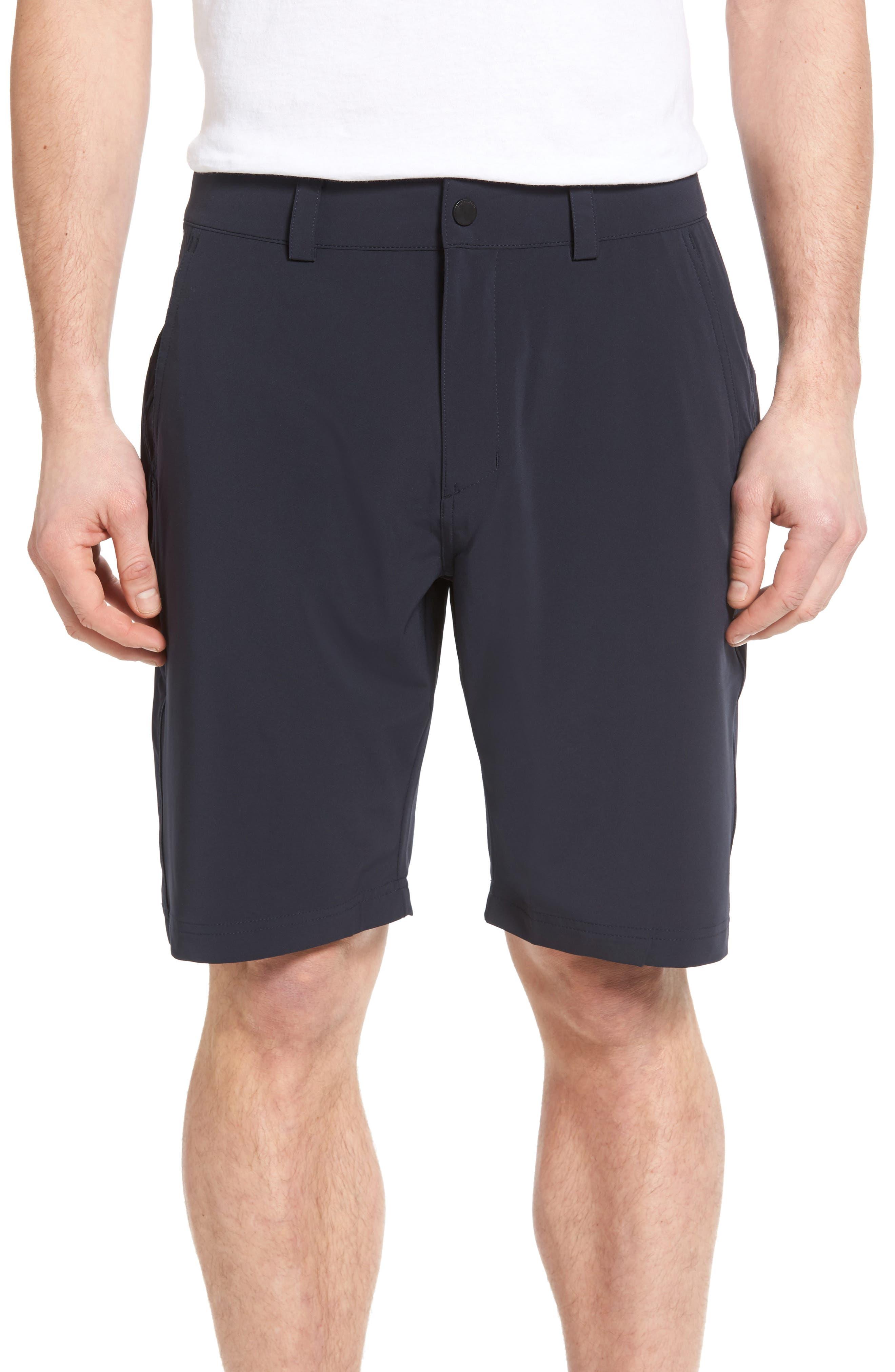 'HP QD Classic' Quick Dry Shorts,                         Main,                         color, Navy