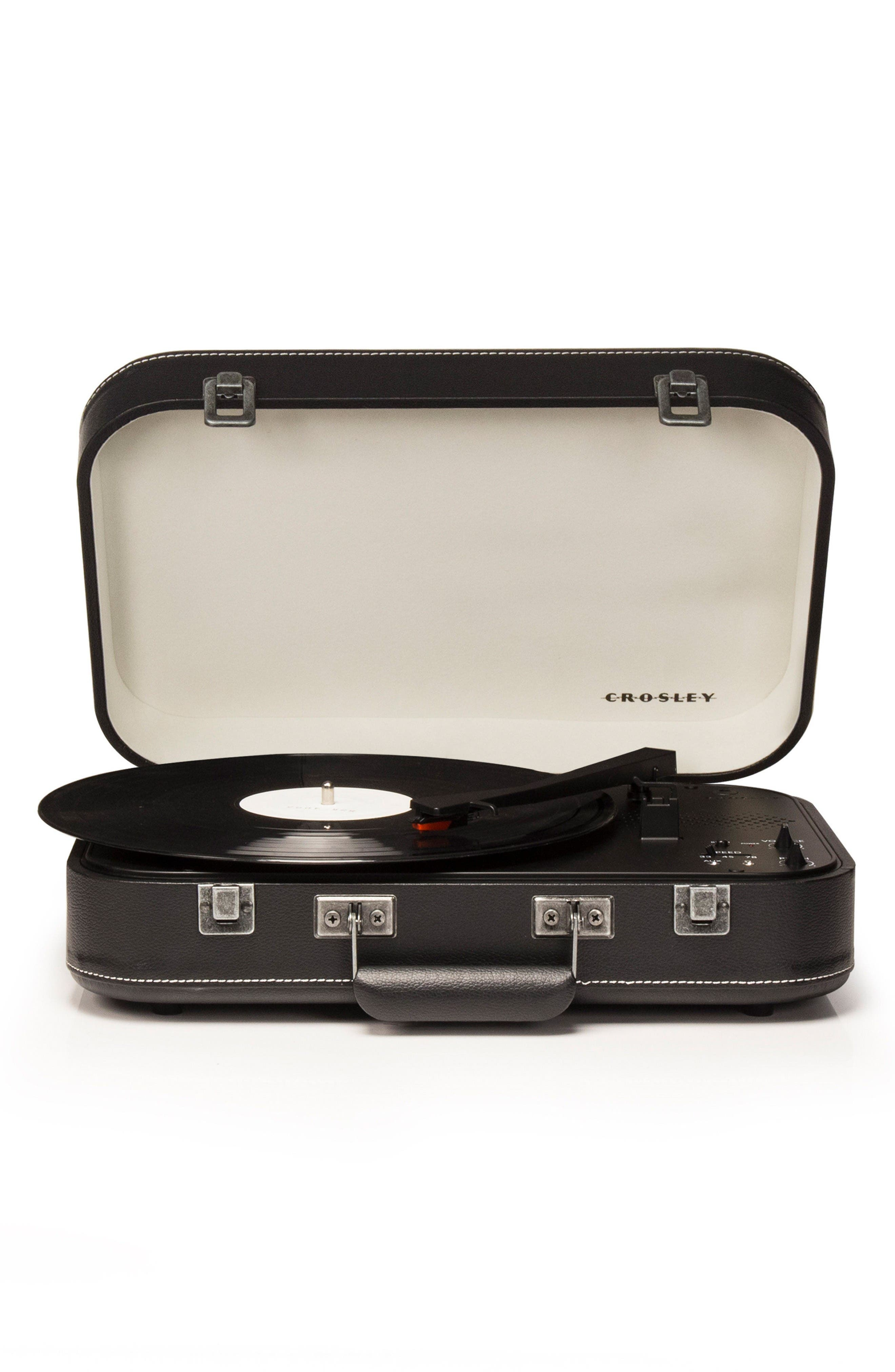 Coupe Turntable,                             Main thumbnail 1, color,                             Black