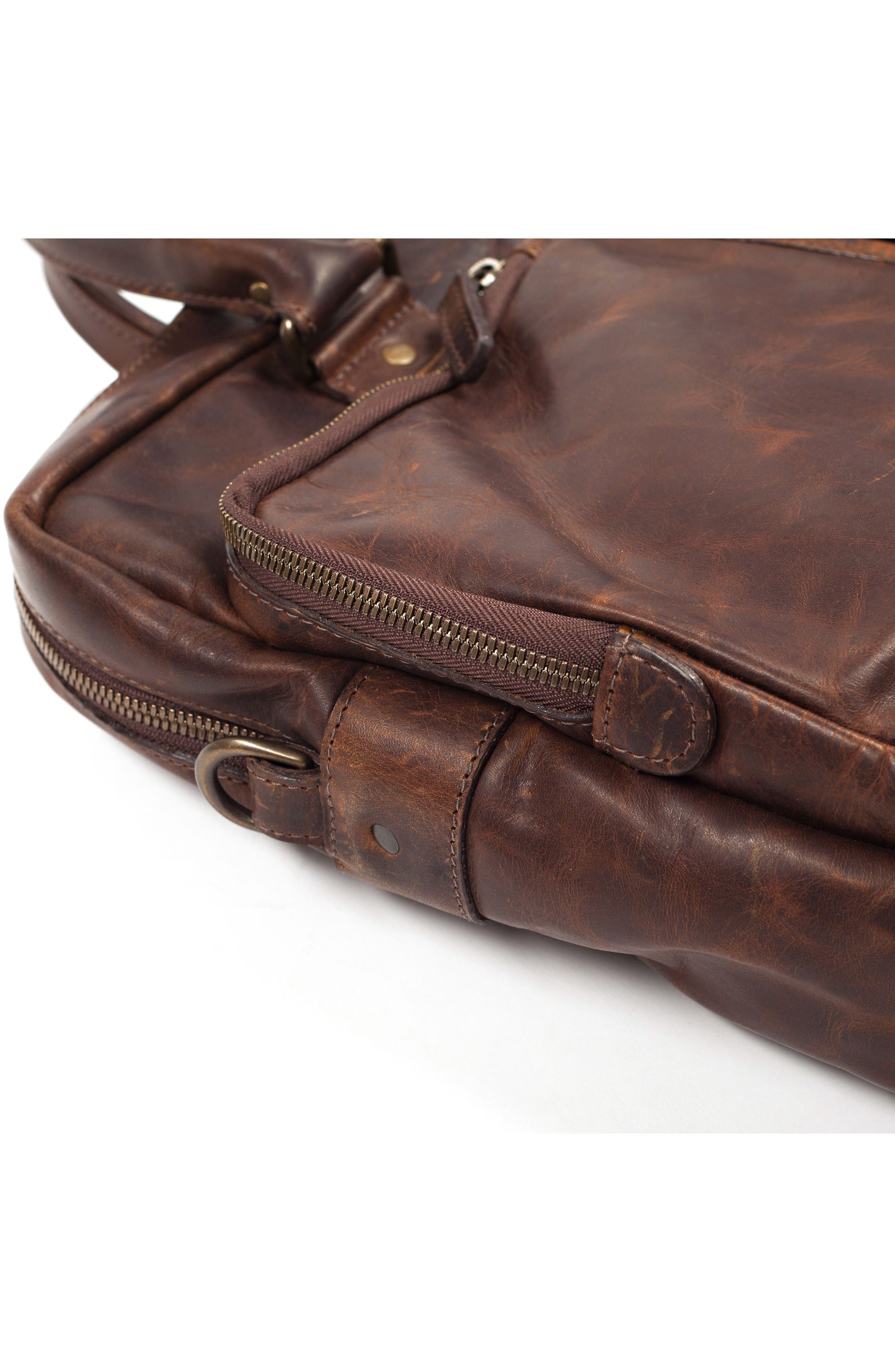 Alternate Image 7  - Moore & Giles Haythe Leather Briefcase