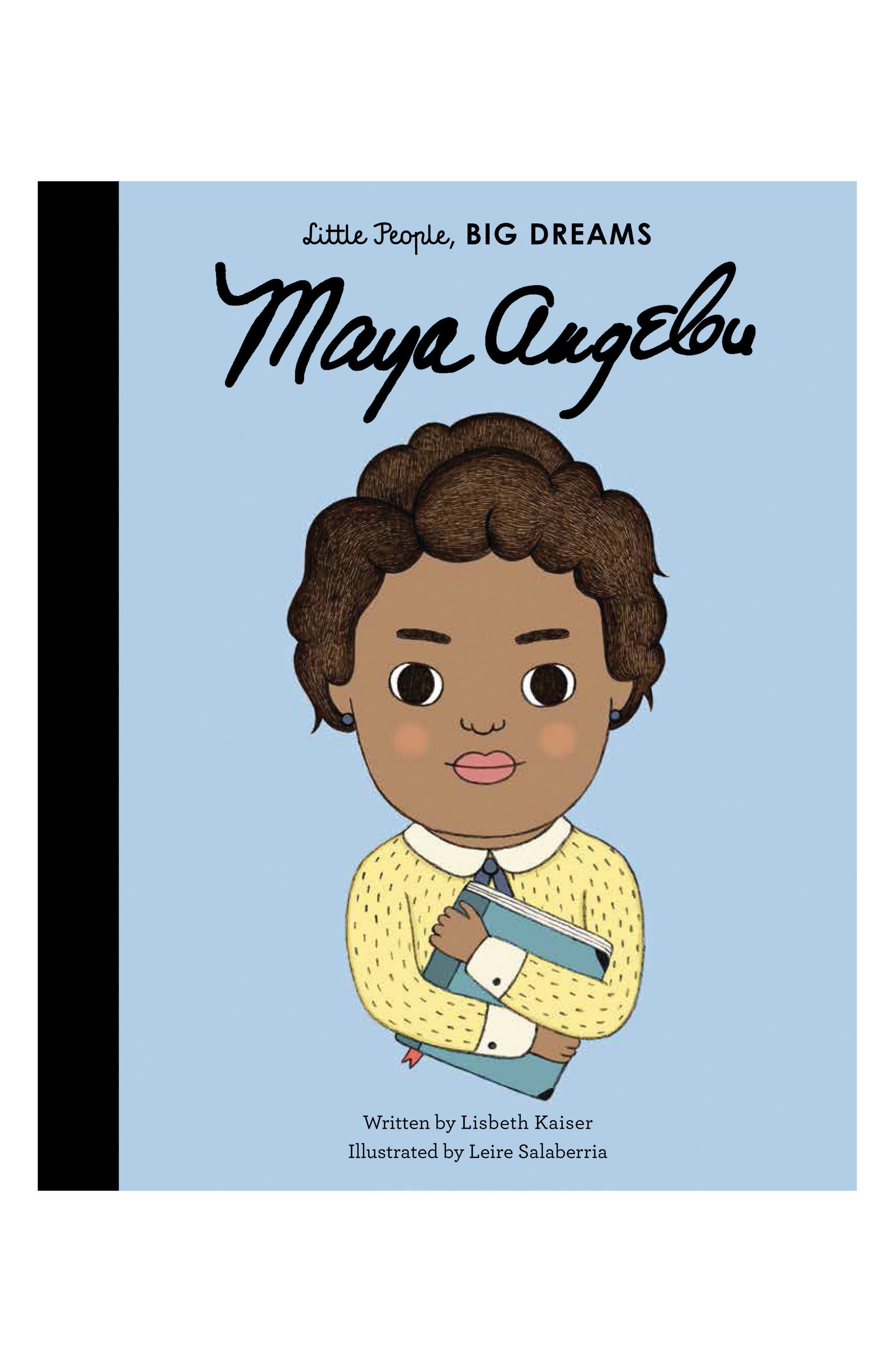 Little People, Big Dreams: Maya Angelou Book,                         Main,                         color, Blue