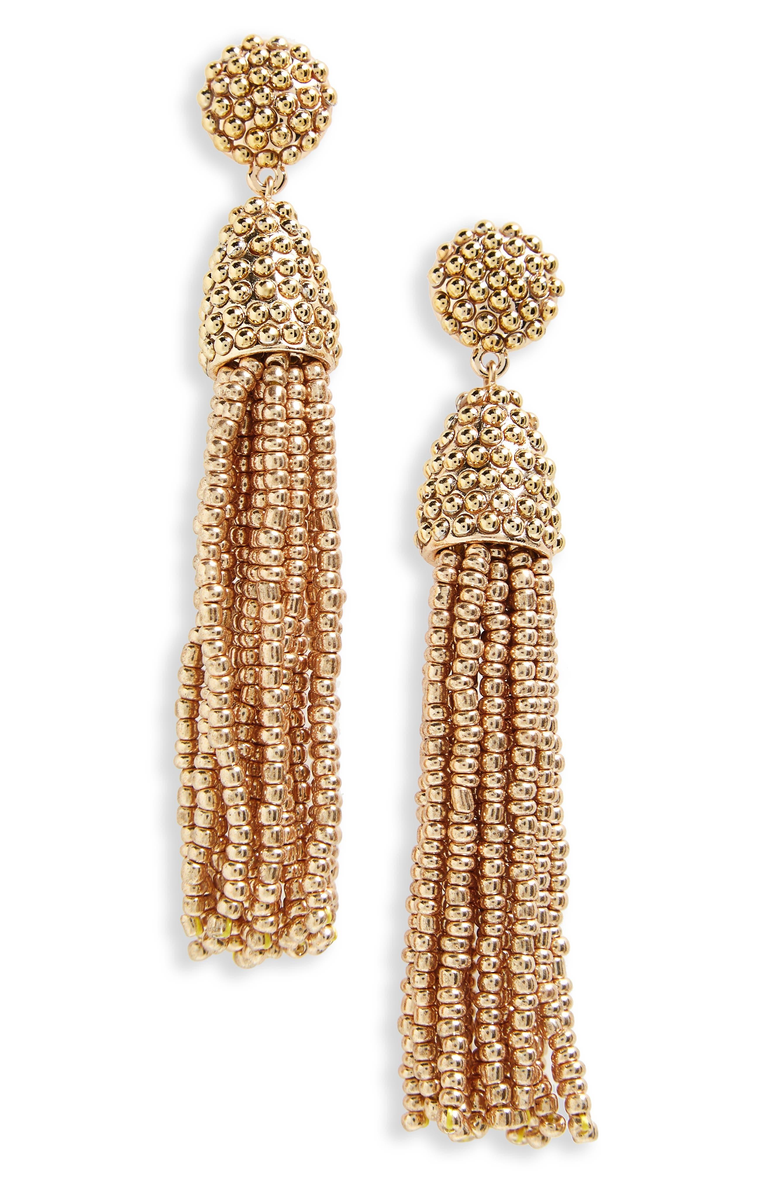 Main Image - BaubleBar 'Piñata' Tassel Earrings