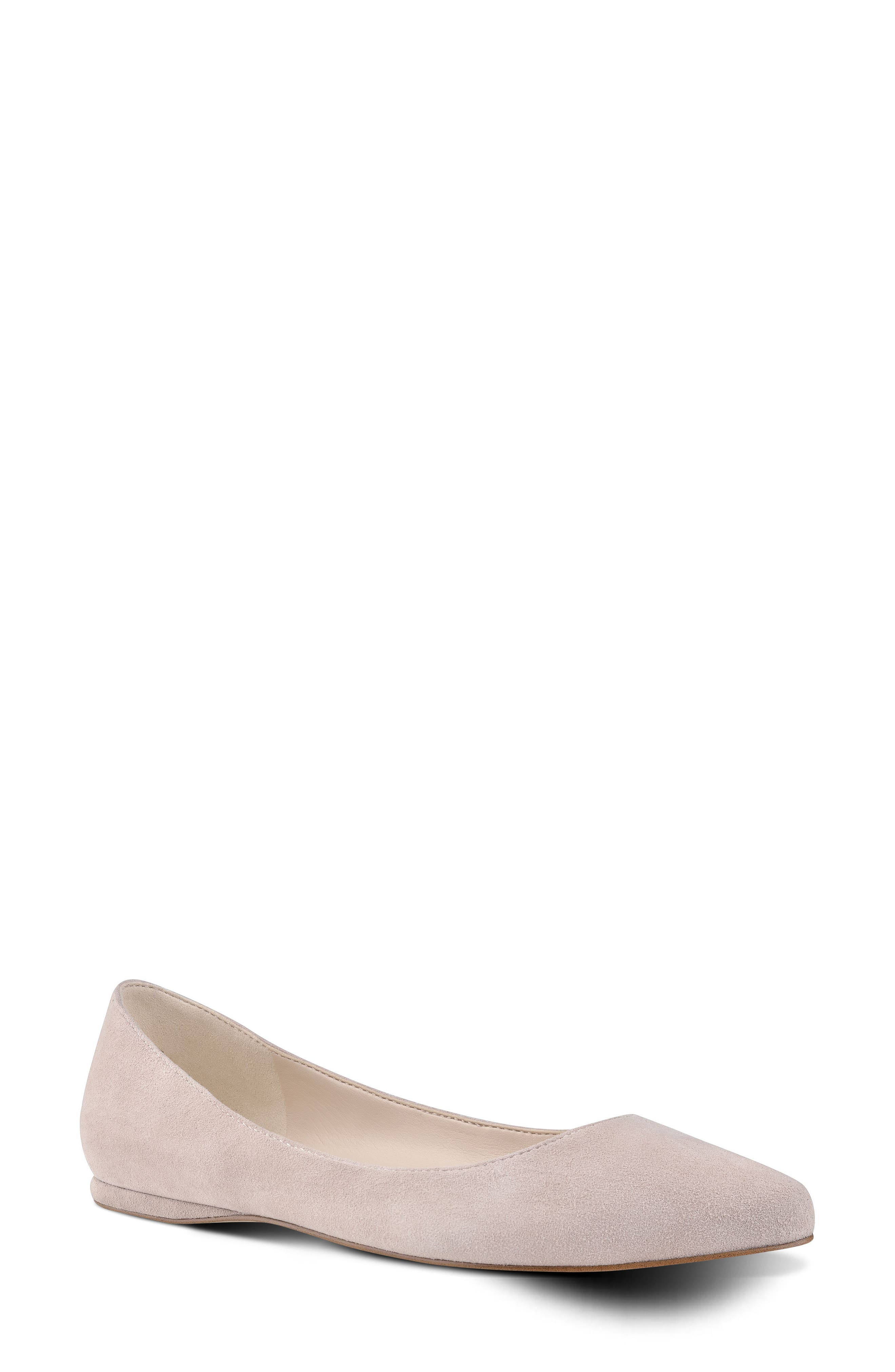 'Speakup' Flat,                         Main,                         color, Natural Suede