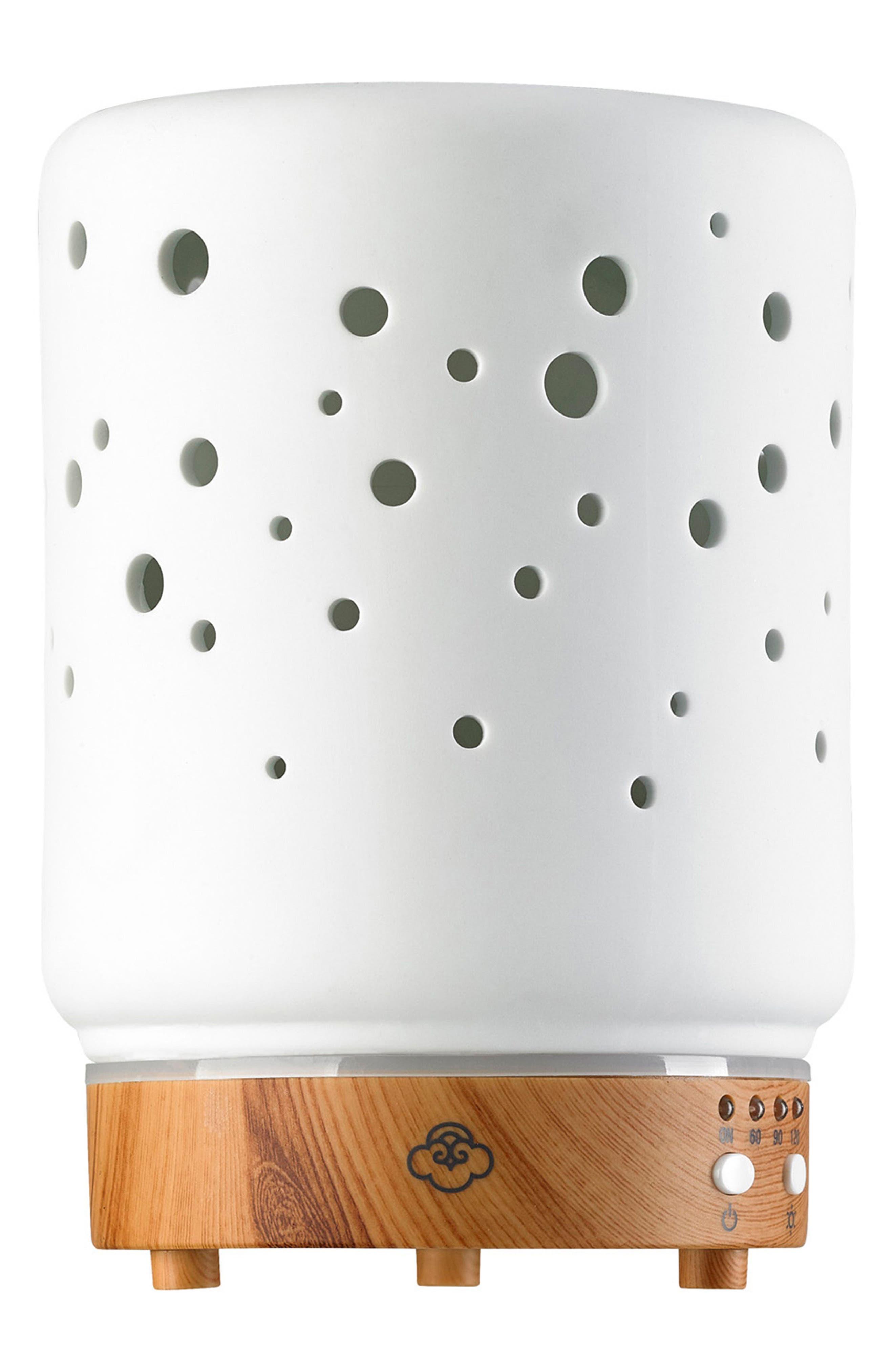 Starlight Electric Aromatherapy Diffuser,                         Main,                         color, White