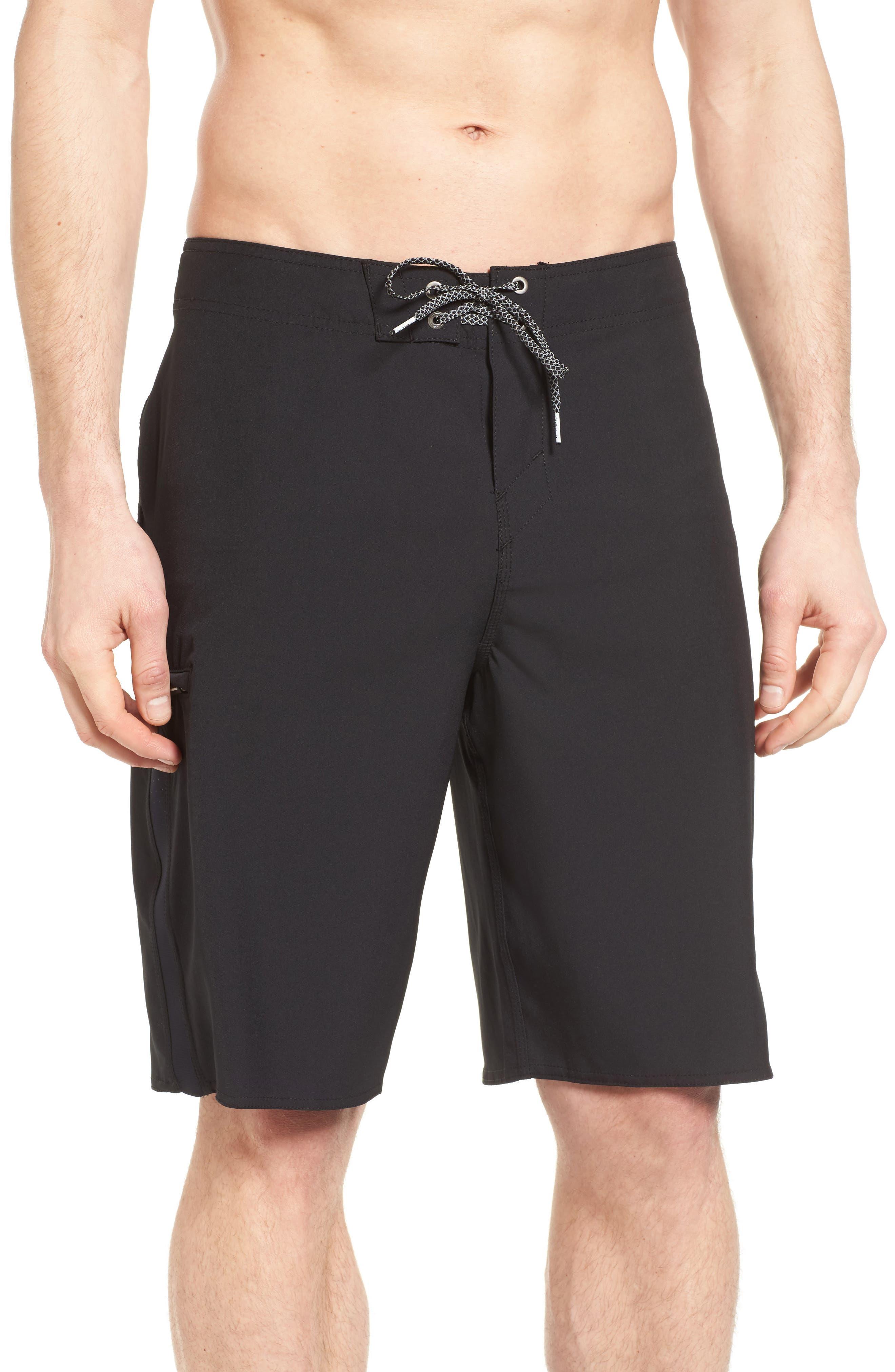 Superfreak Board Shorts,                         Main,                         color, Black