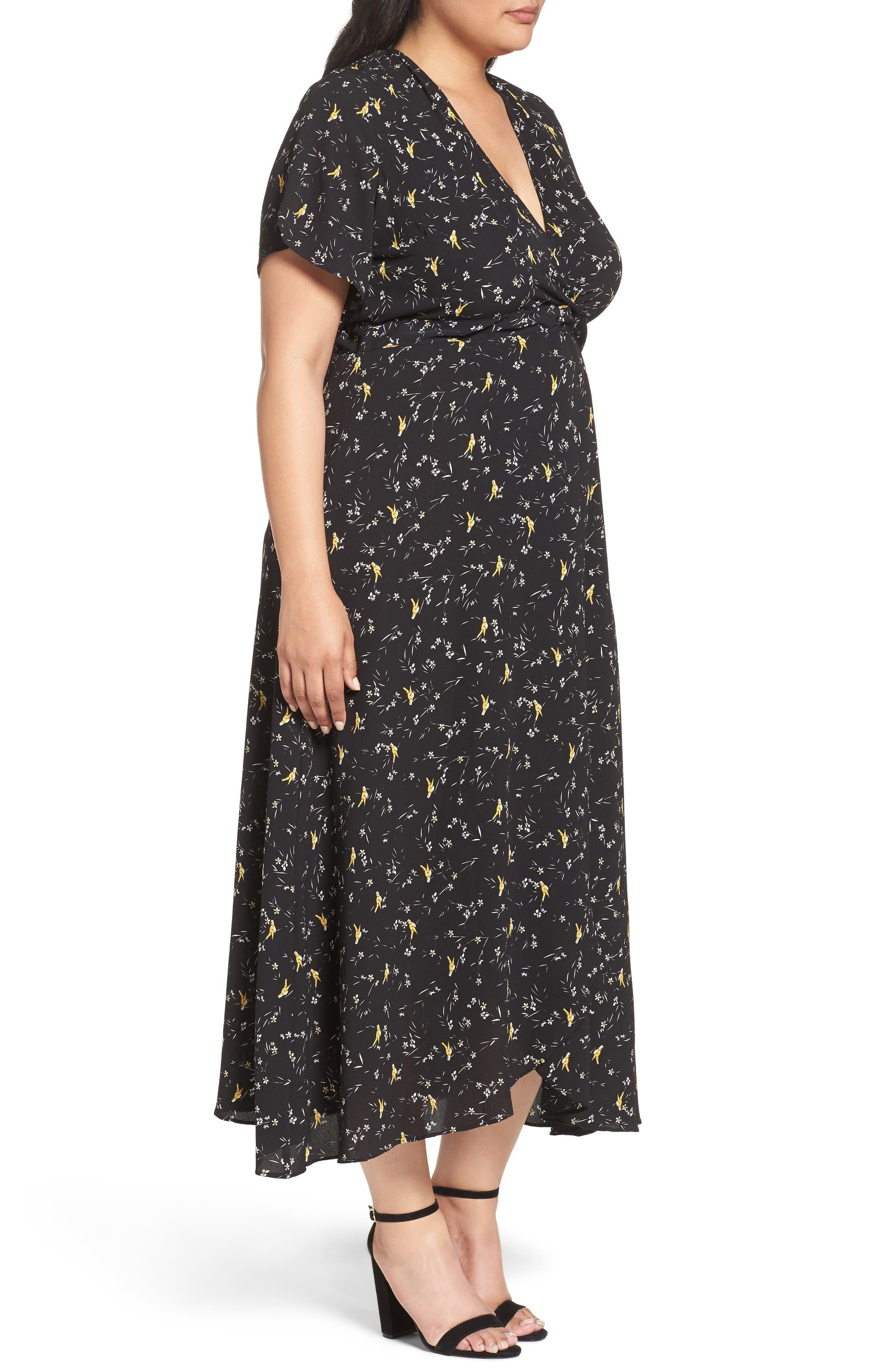 Alternate Image 3  - Glamorous Print Maxi Dress (Plus Size)