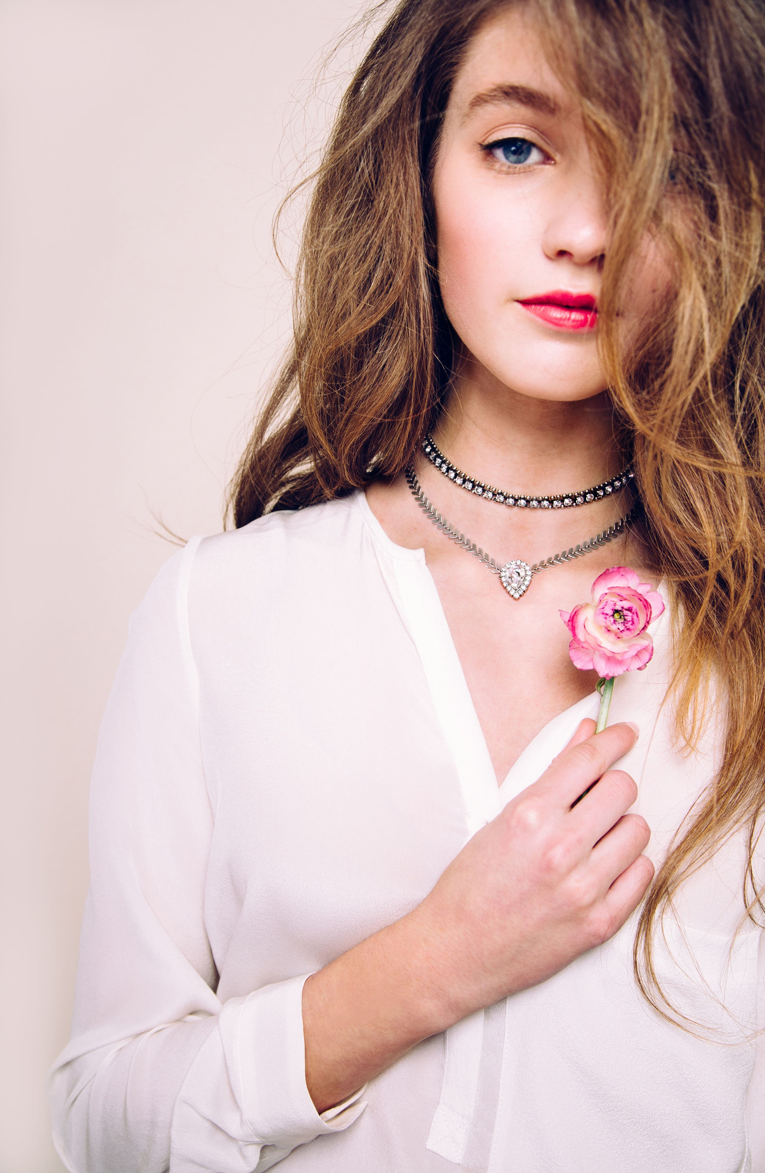 Alternate Image 3  - Loren Hope Crystal Choker Necklace