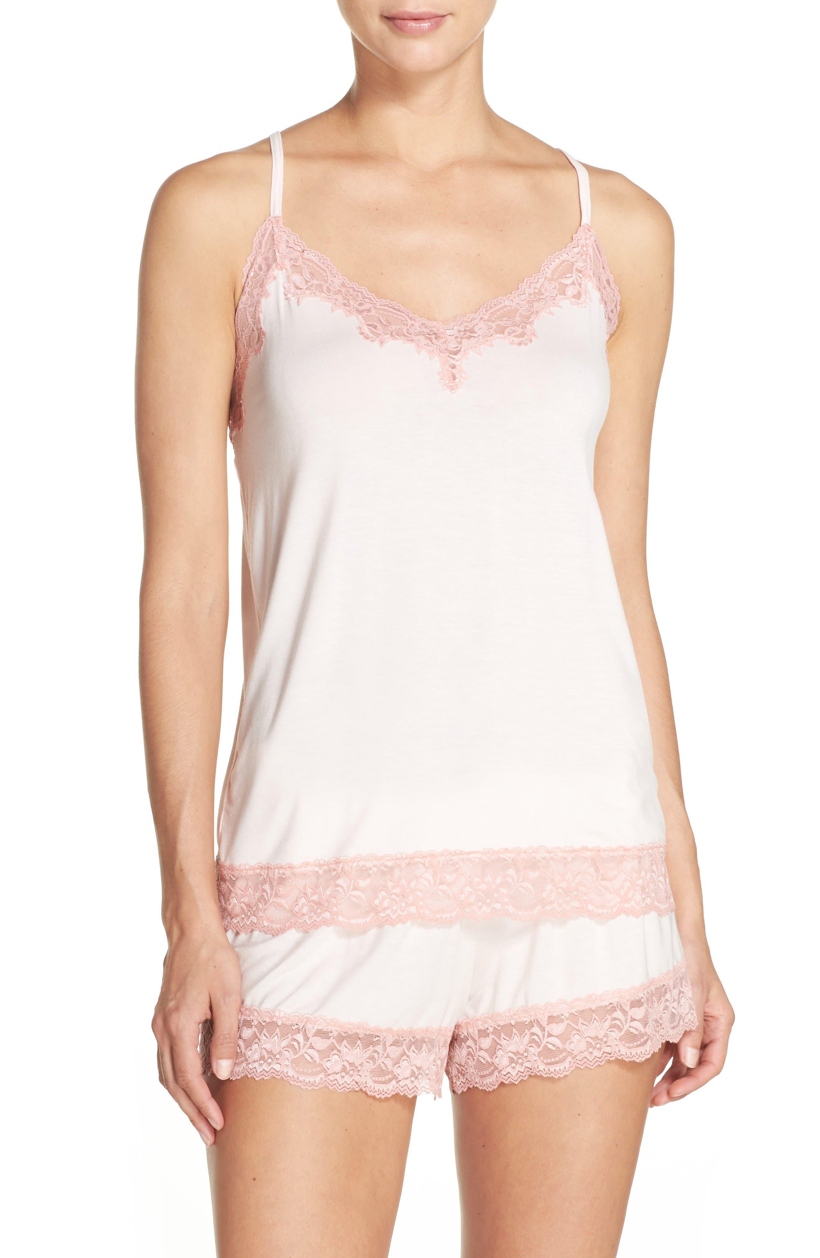 Alternate Image 1 Selected - Flora Nikrooz Snuggle Short Pajamas