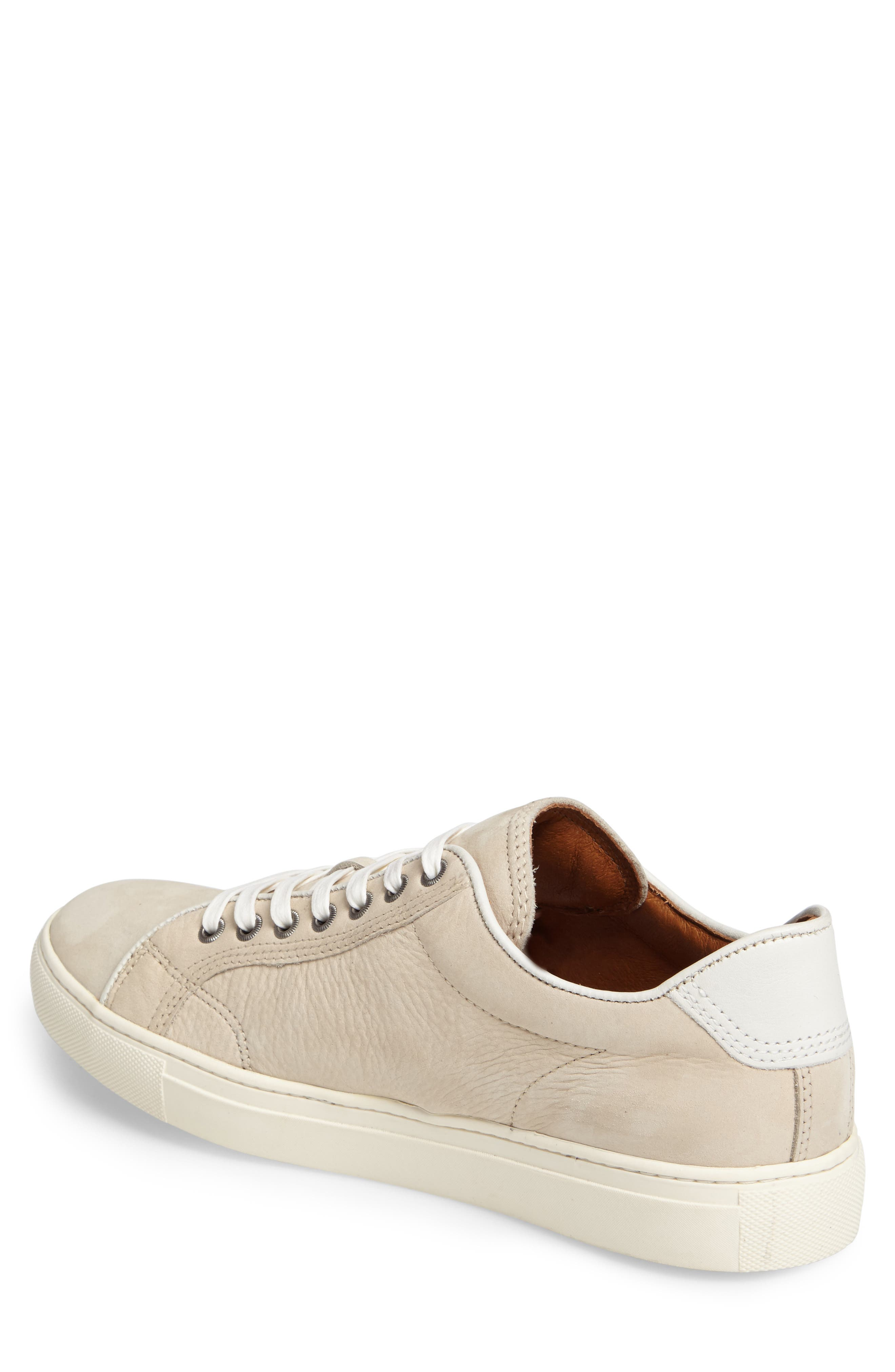 Walker Low Top Sneaker,                             Alternate thumbnail 2, color,                             Ivory