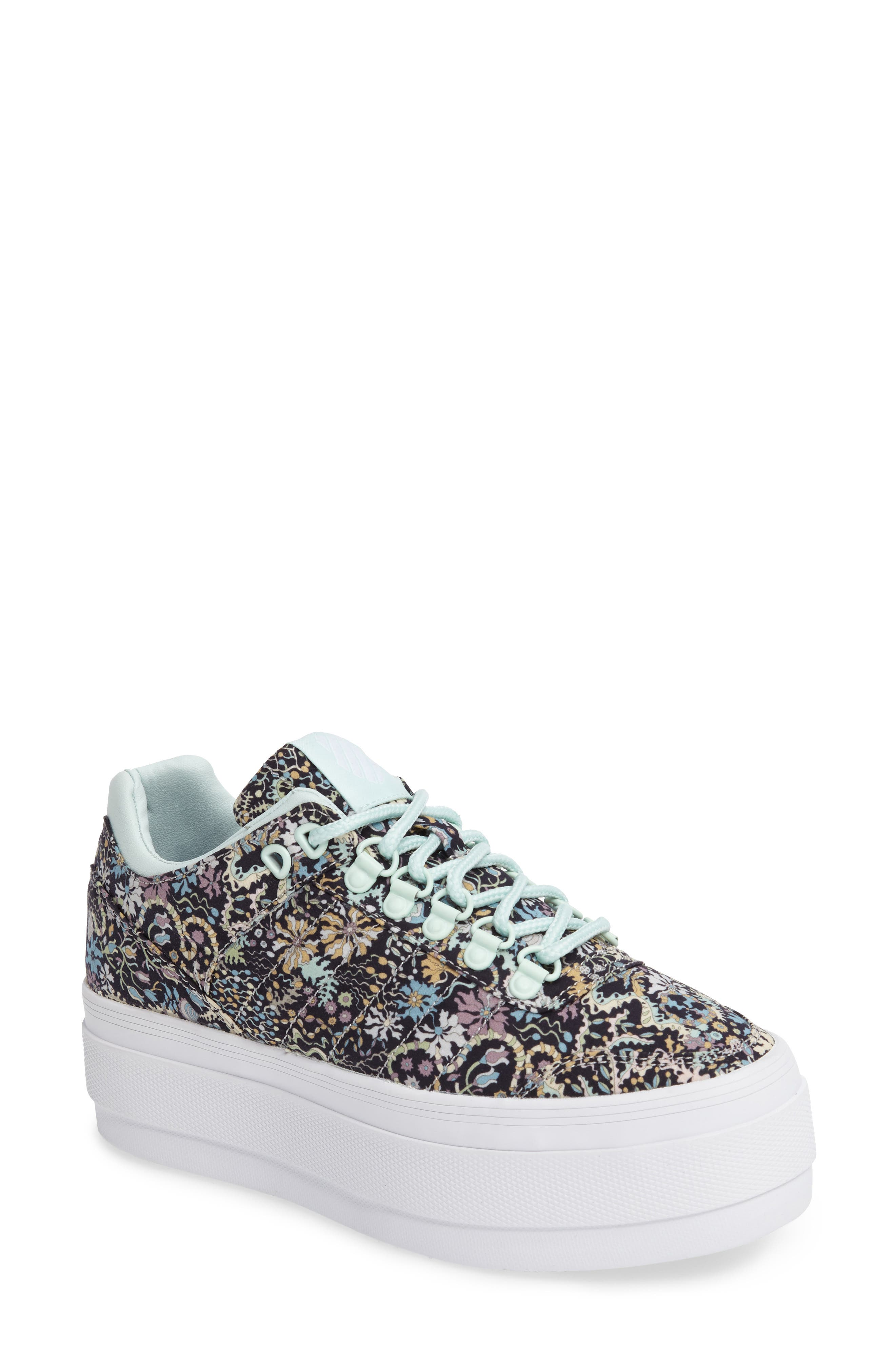 Gstaad Flatform Sneaker,                         Main,                         color, Black/ Glacier/ Liberty