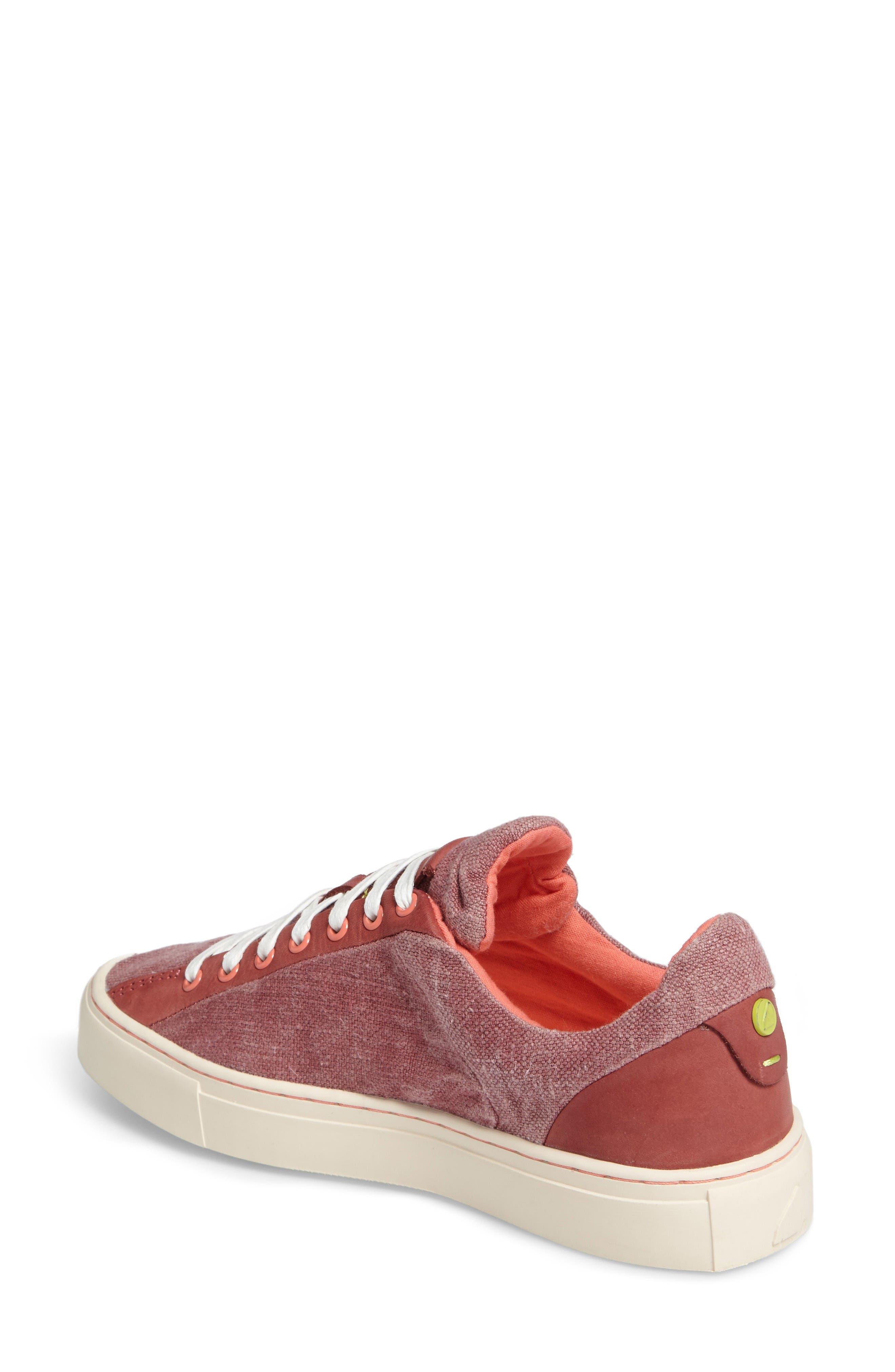 Somerville Sneaker,                             Alternate thumbnail 2, color,                             Sandalwood Fabric