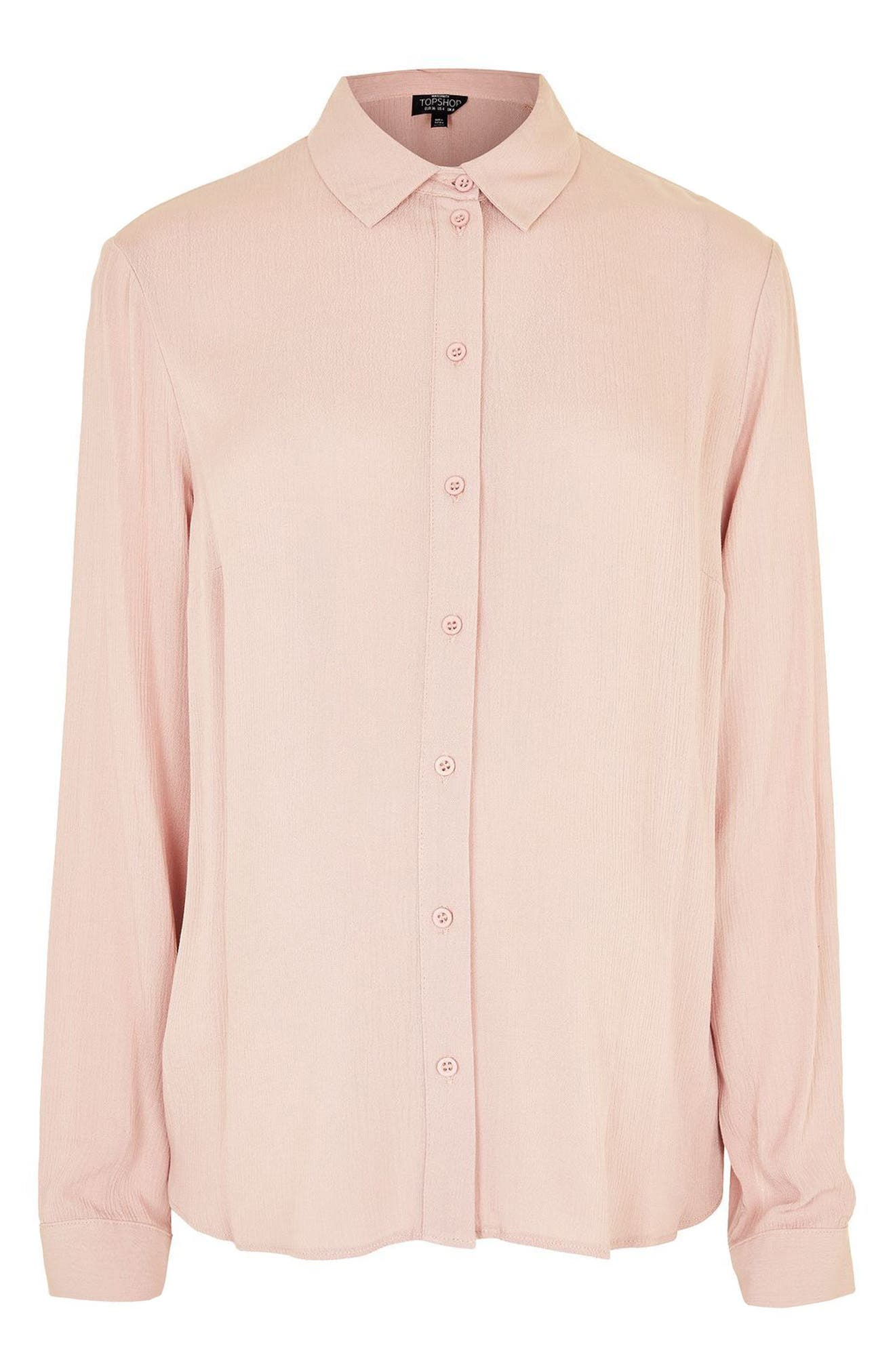 Alternate Image 4  - Topshop Tie Back Maternity Shirt