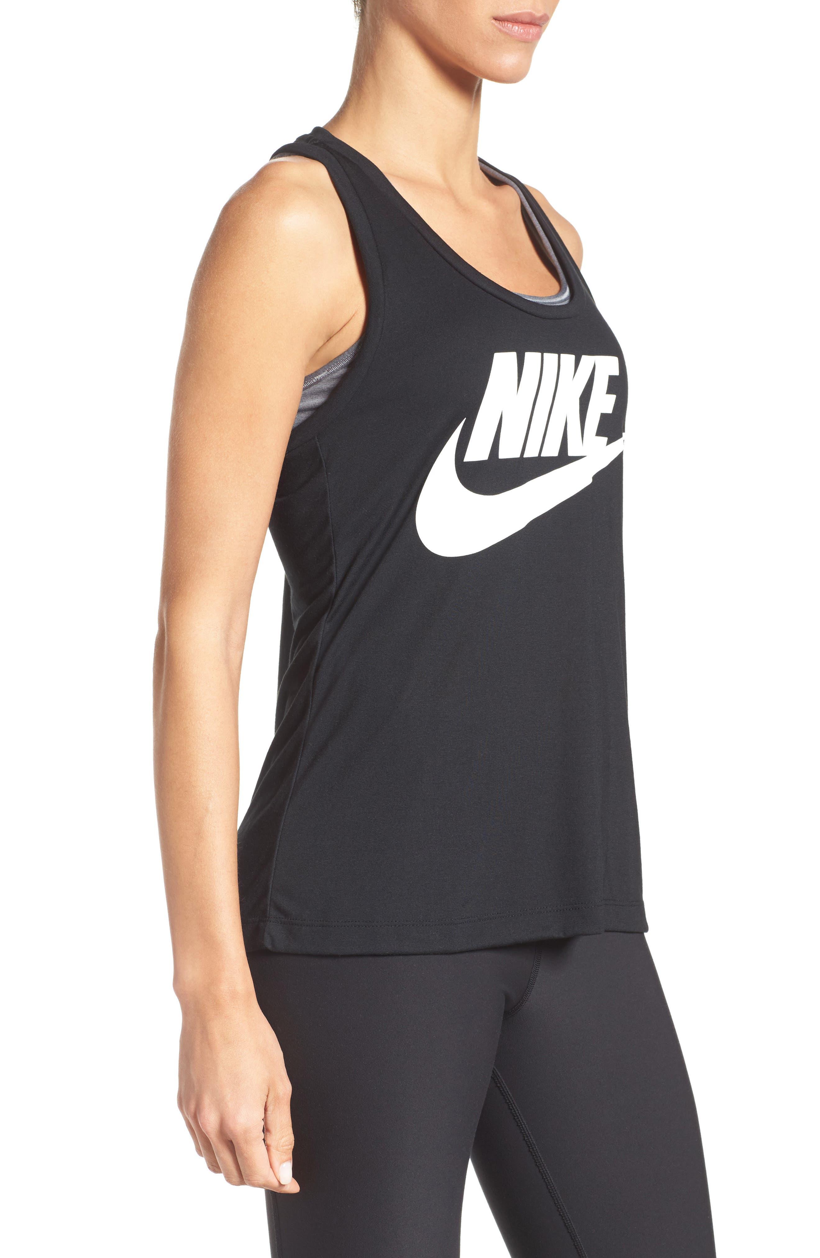 Alternate Image 3  - Nike Essential Logo Tank