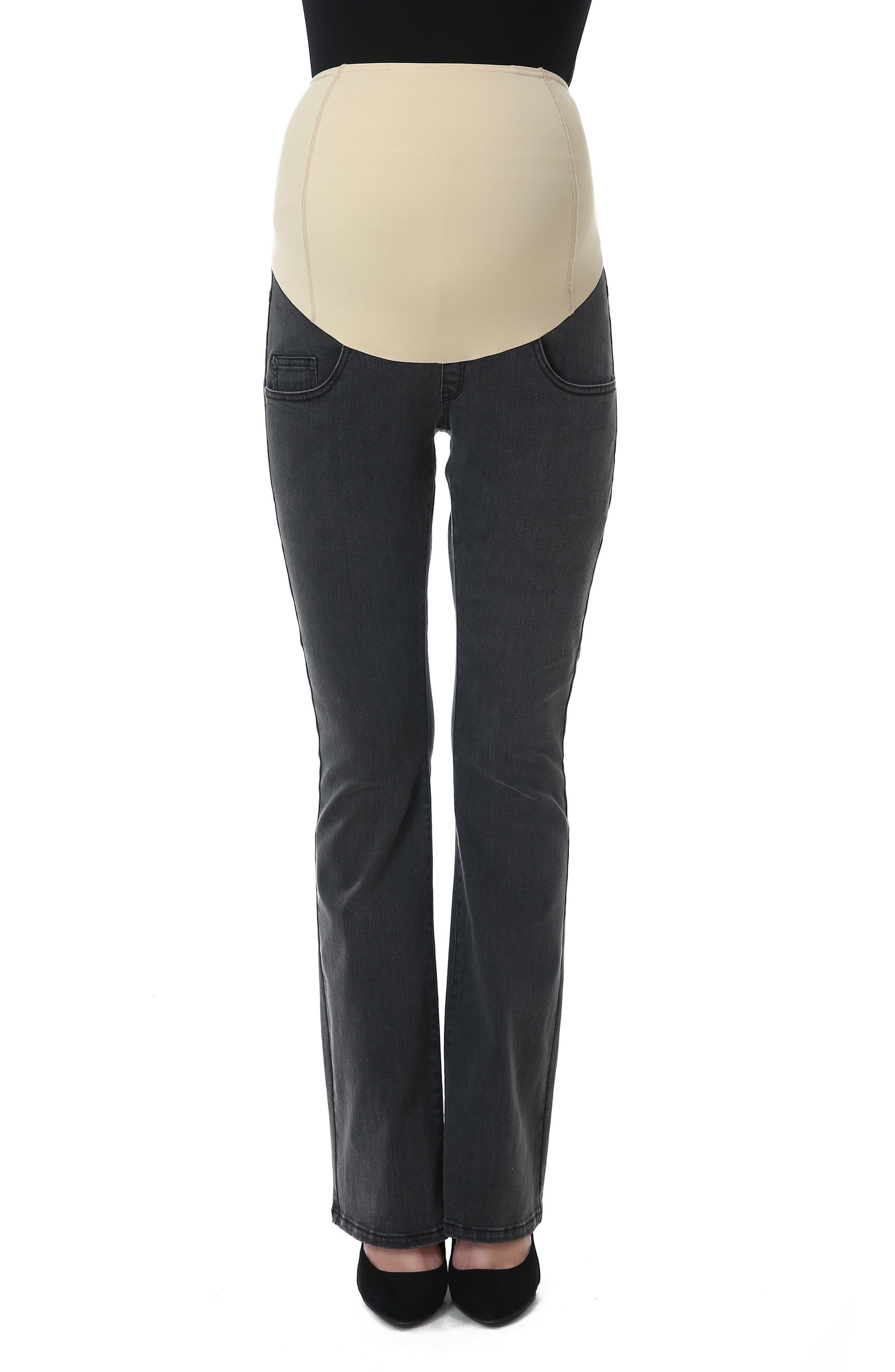 Kimi and Kai Dixie Maternity Flare Jeans
