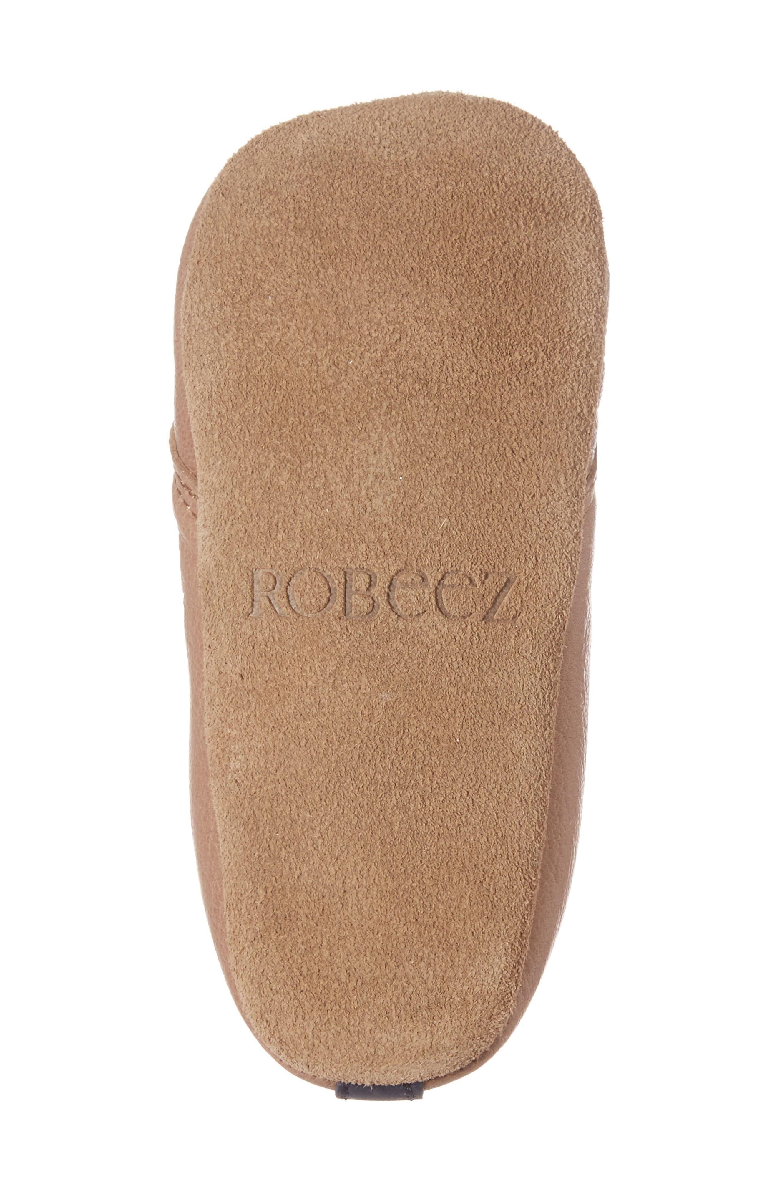 Alternate Image 6  - Robeez® Owen Crib Shoe (Baby & Walker)