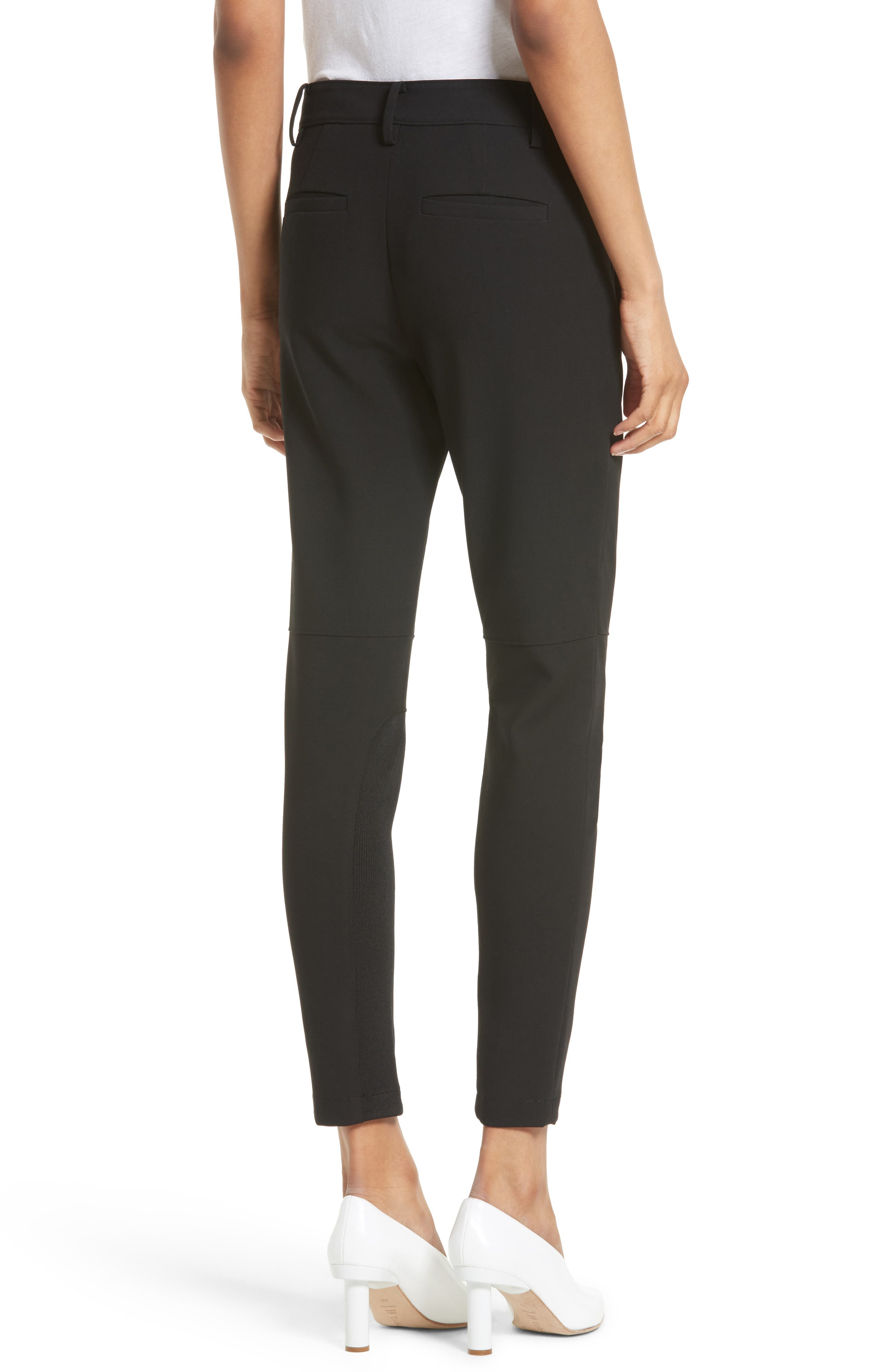 Alternate Image 3  - Tibi Anson Stretch Insert Ankle Pants