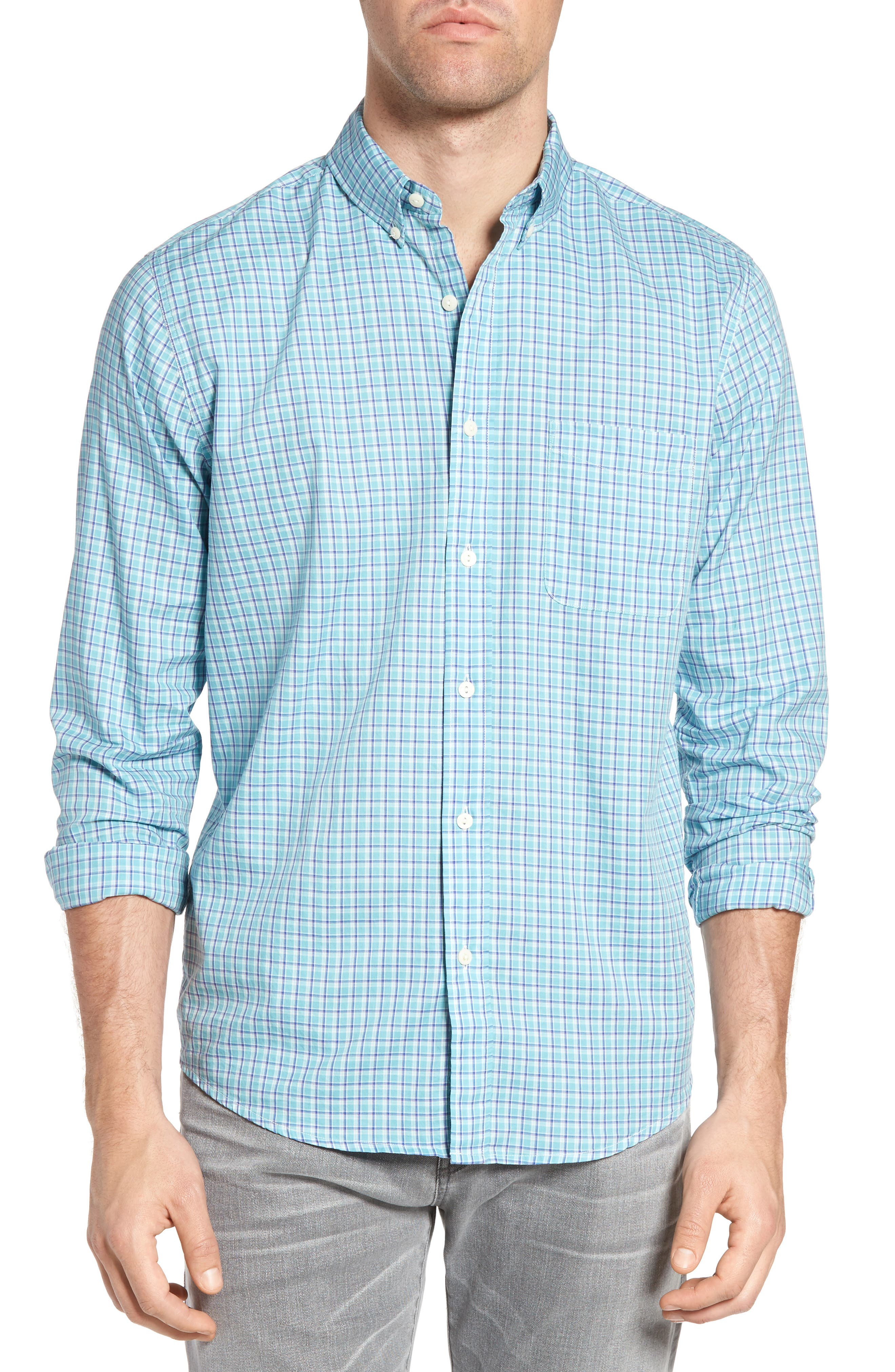 FAHERTY Laguna Check Sport Shirt