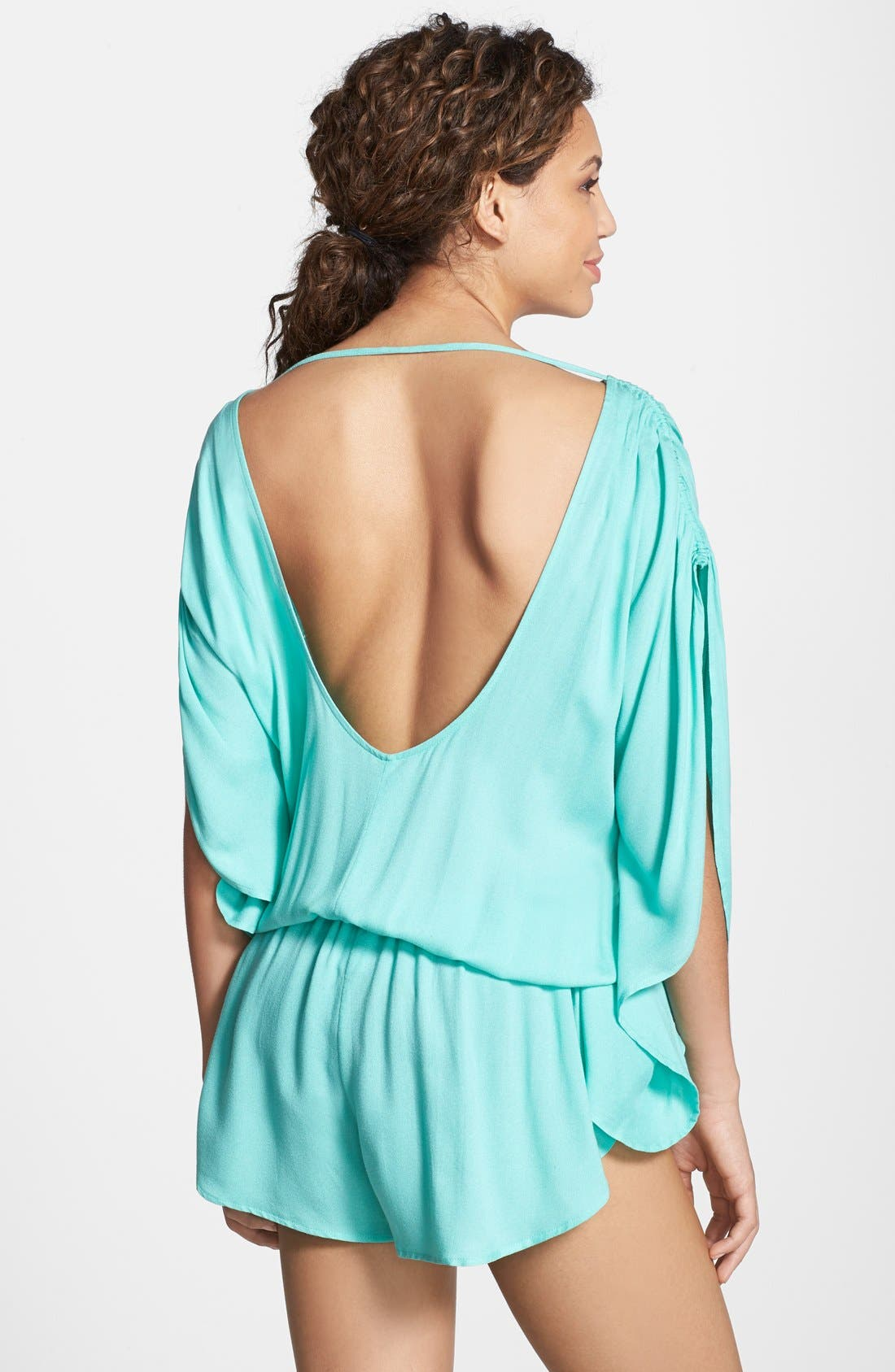 Alternate Image 2  - Seafolly Flowing Cover-Up Romper