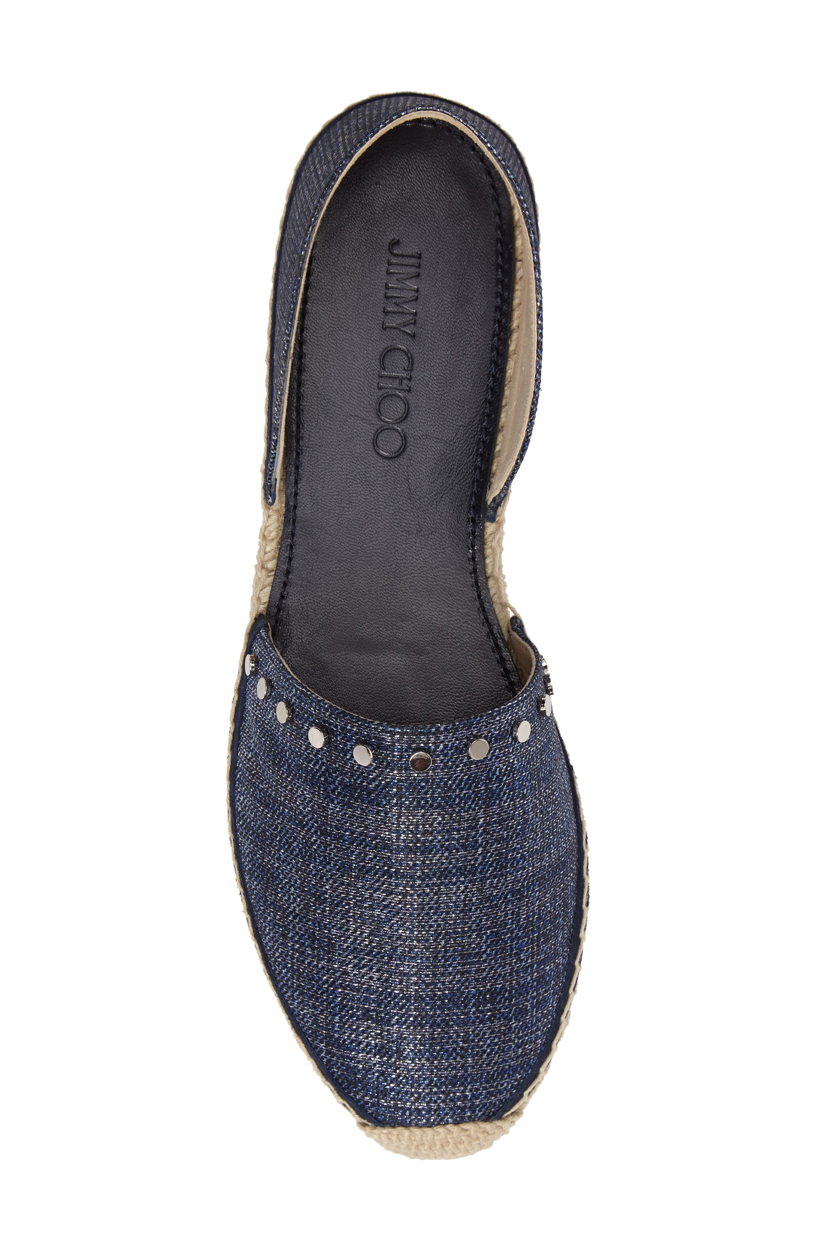 Alternate Image 5  - Jimmy Choo Split Espadrille Flat (Women)