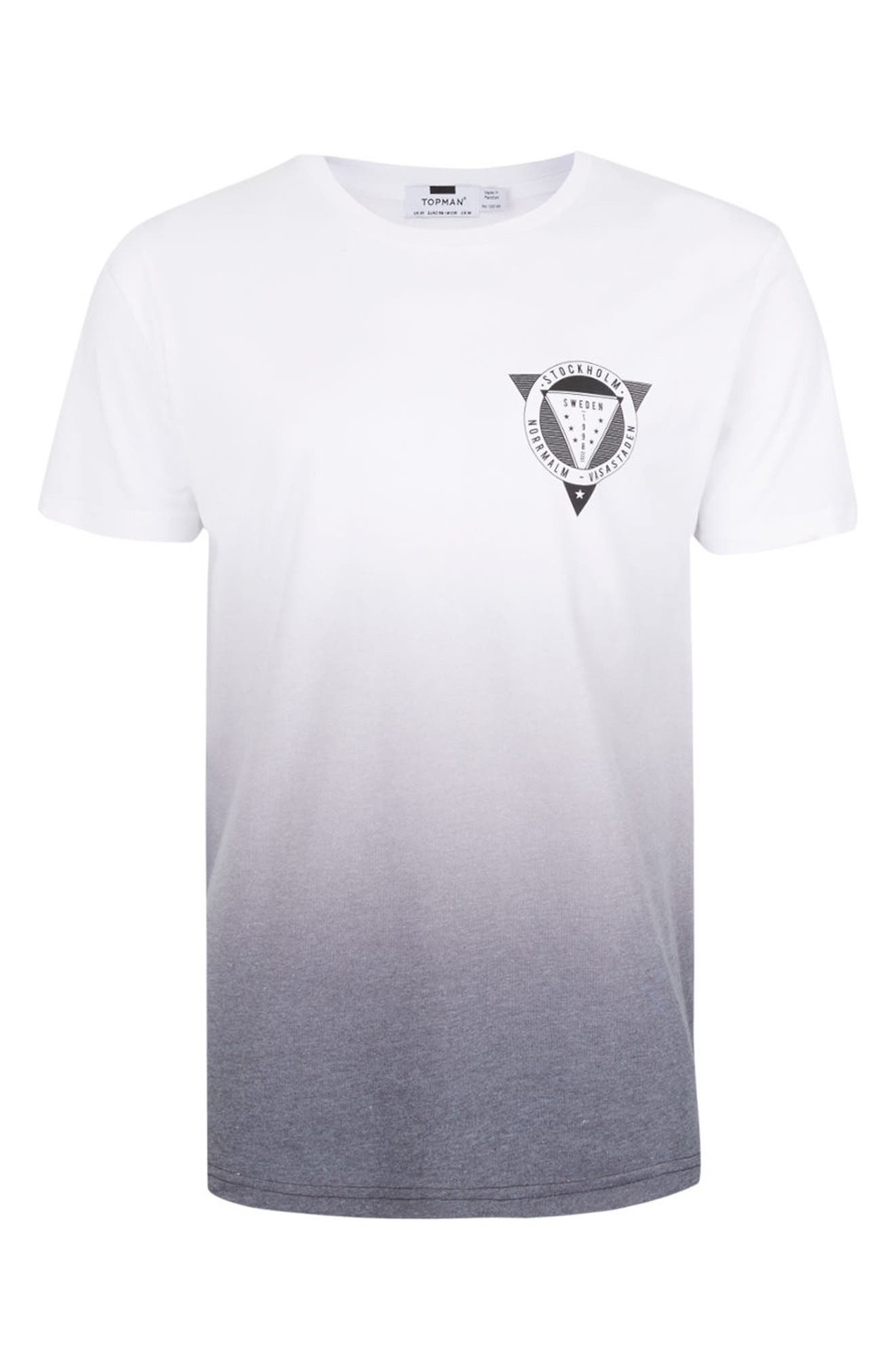 Alternate Image 5  - Topman 1998 Sweden Slim Fit Graphic T-Shirt