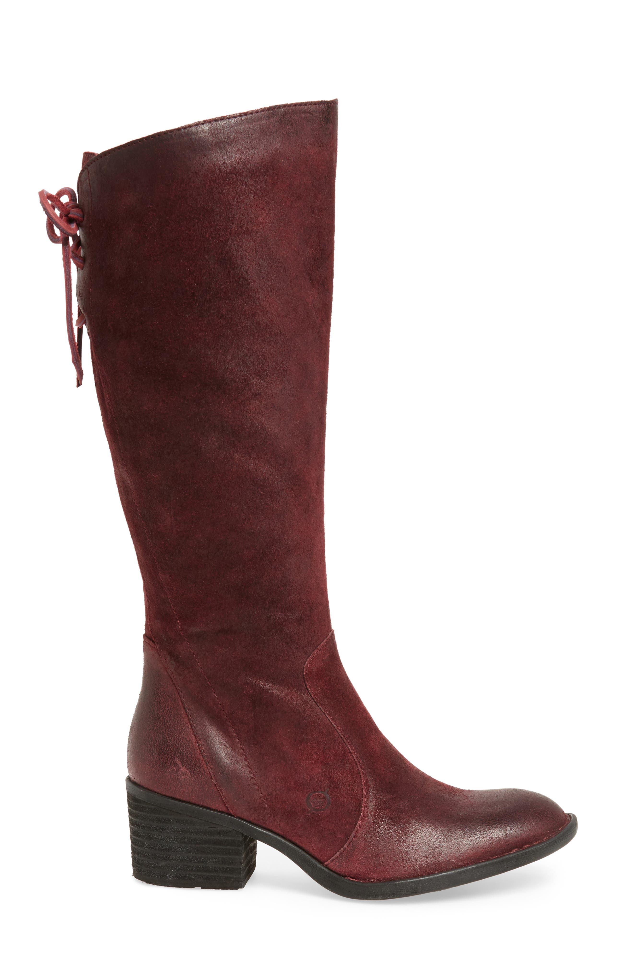 Alternate Image 3  - Børn Felicia Knee High Boot (Women) (Regular & Wide Calf)