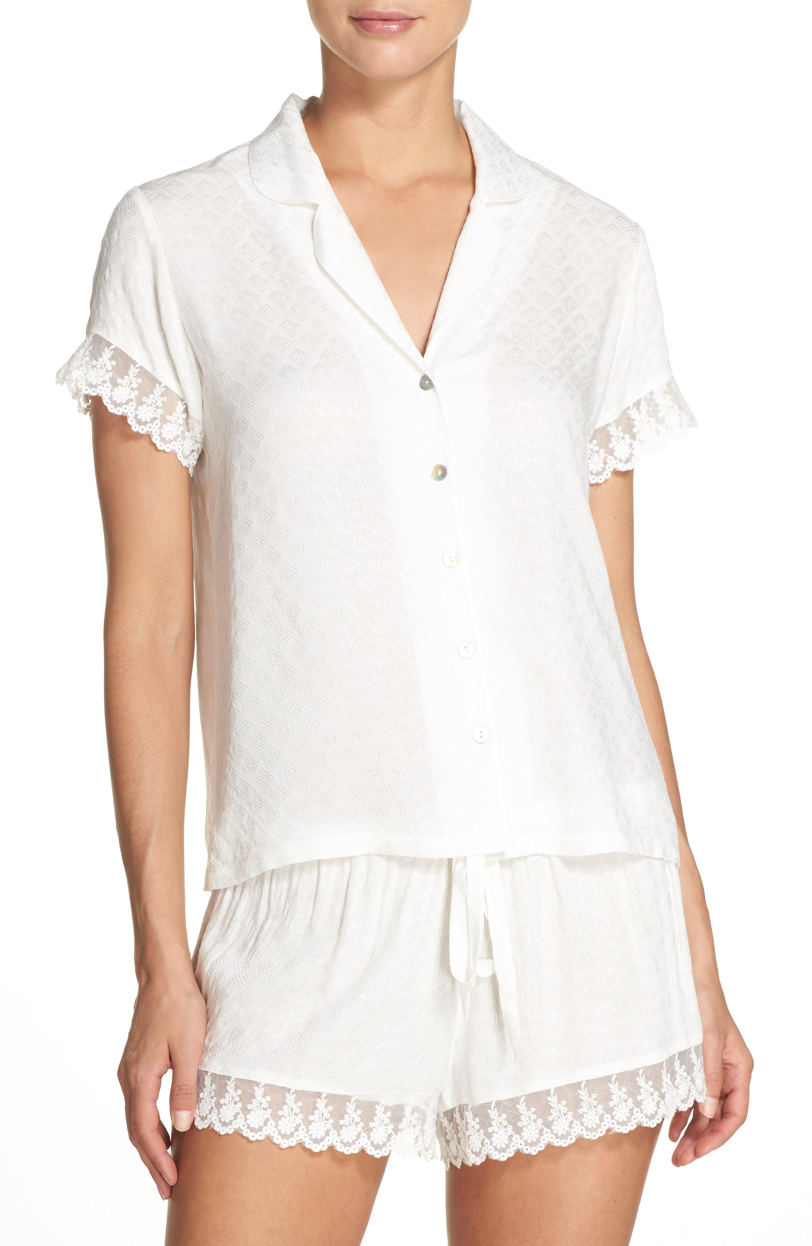 Main Image - Flora Nikrooz Laurel Short Pajamas