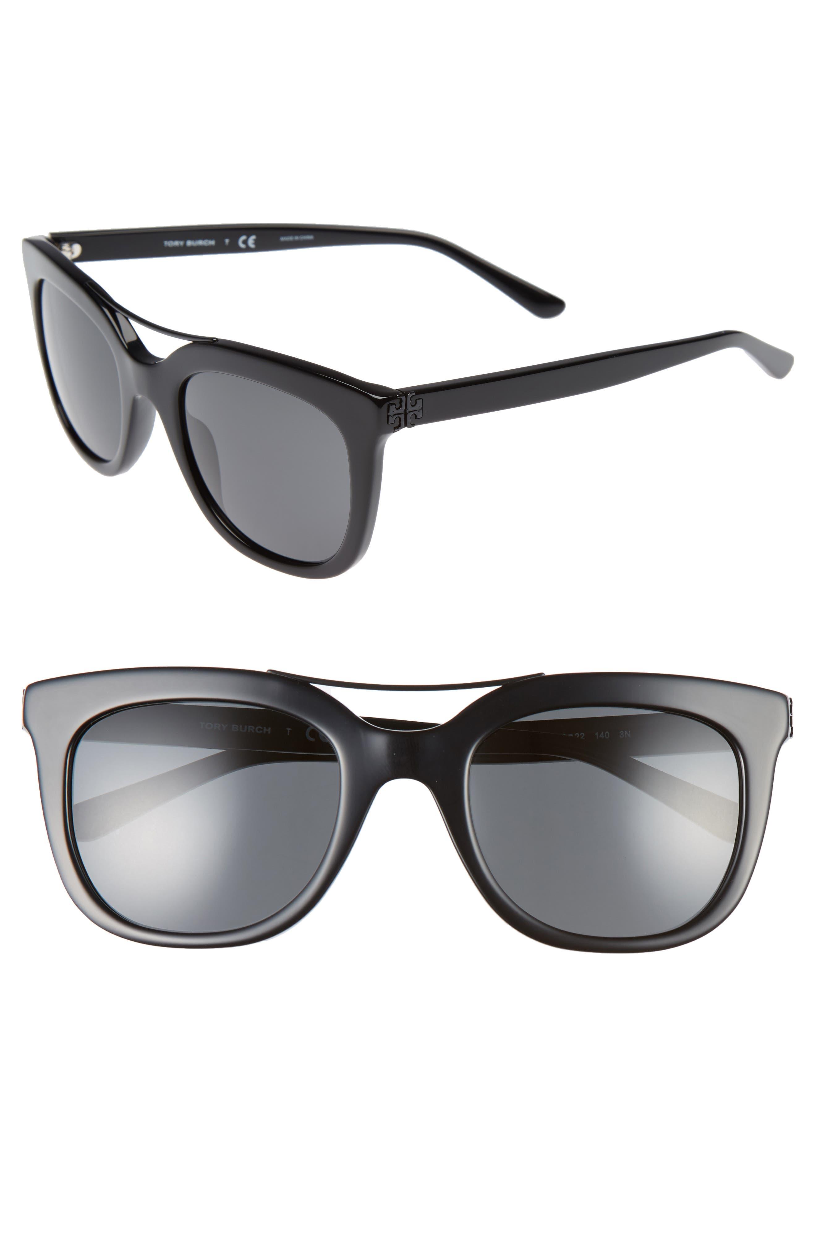 Tory Burch 53mm Retro Sunglasses