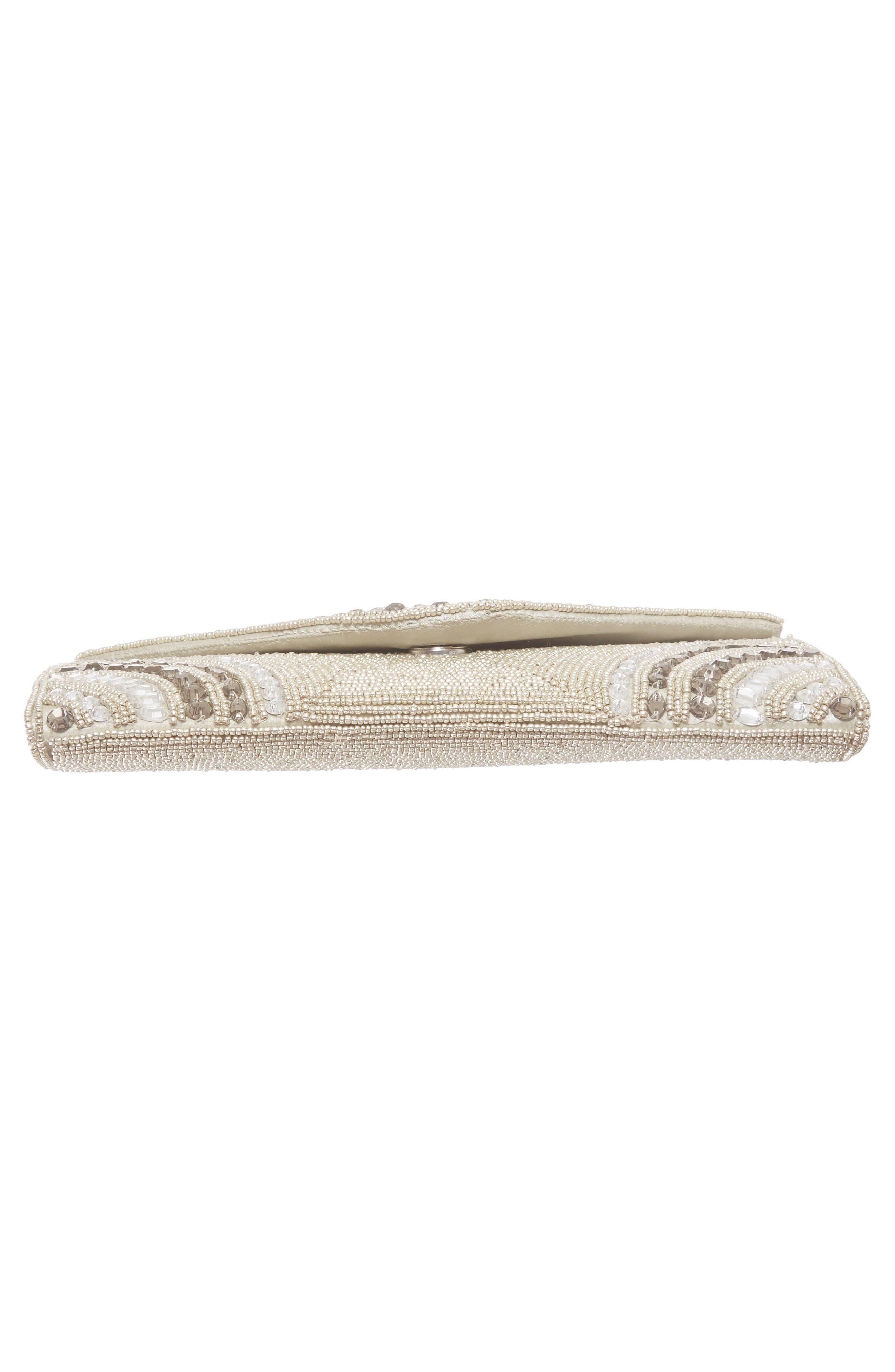 Alternate Image 5  - Glint 'Alhambra' Embellished Envelope Clutch
