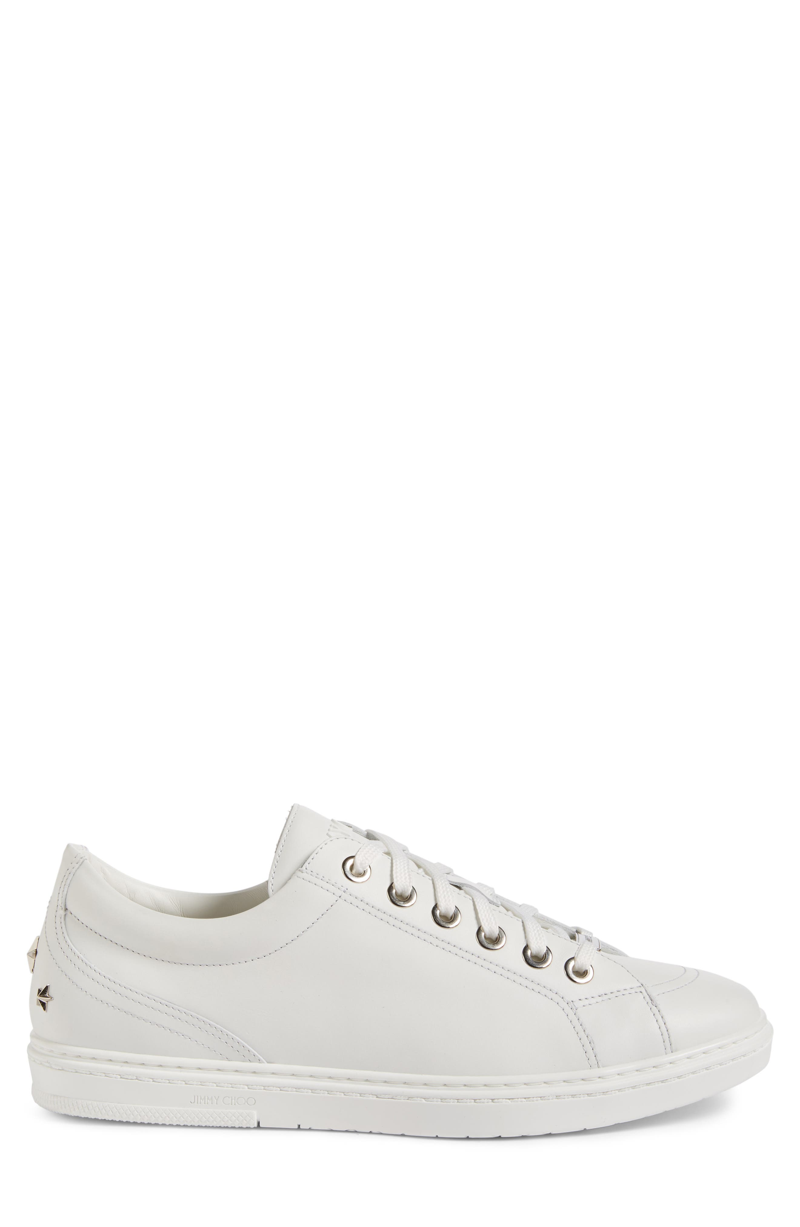Cash Star Sneaker,                             Alternate thumbnail 3, color,                             Ultra White