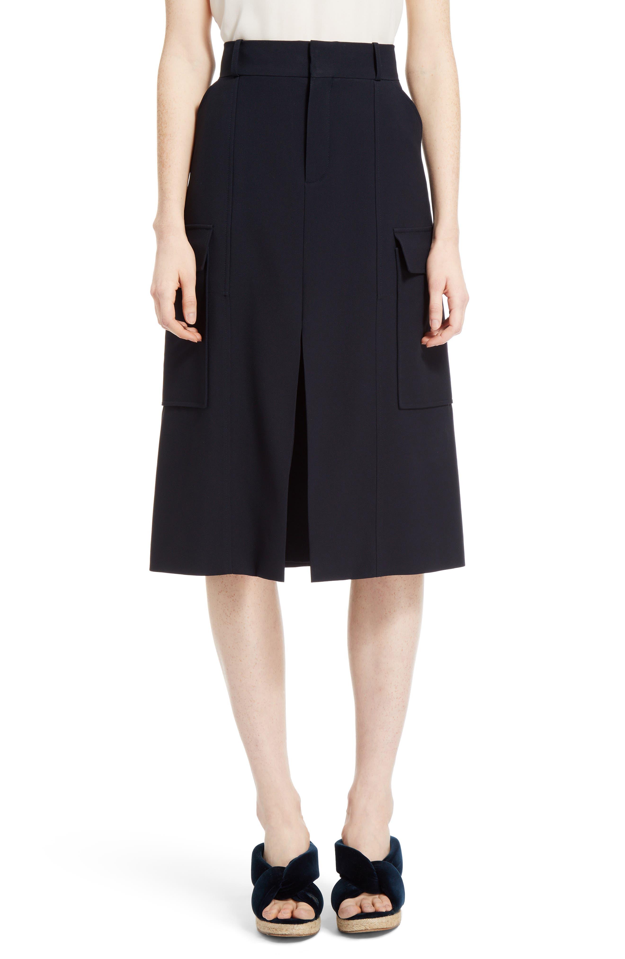 Cady Skirt,                             Main thumbnail 1, color,                             Blue