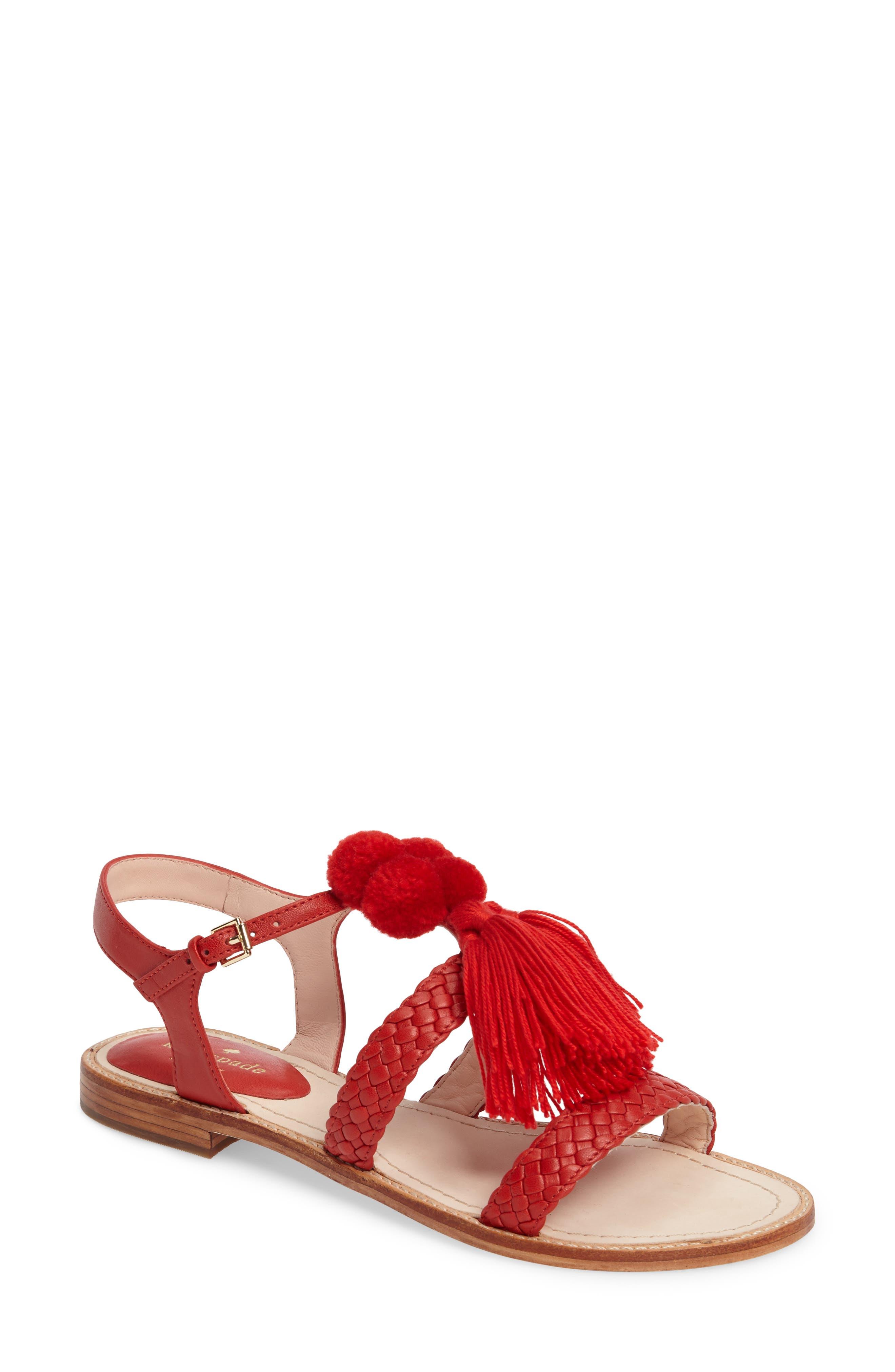 KATE SPADE NEW YORK sunset flat sandal