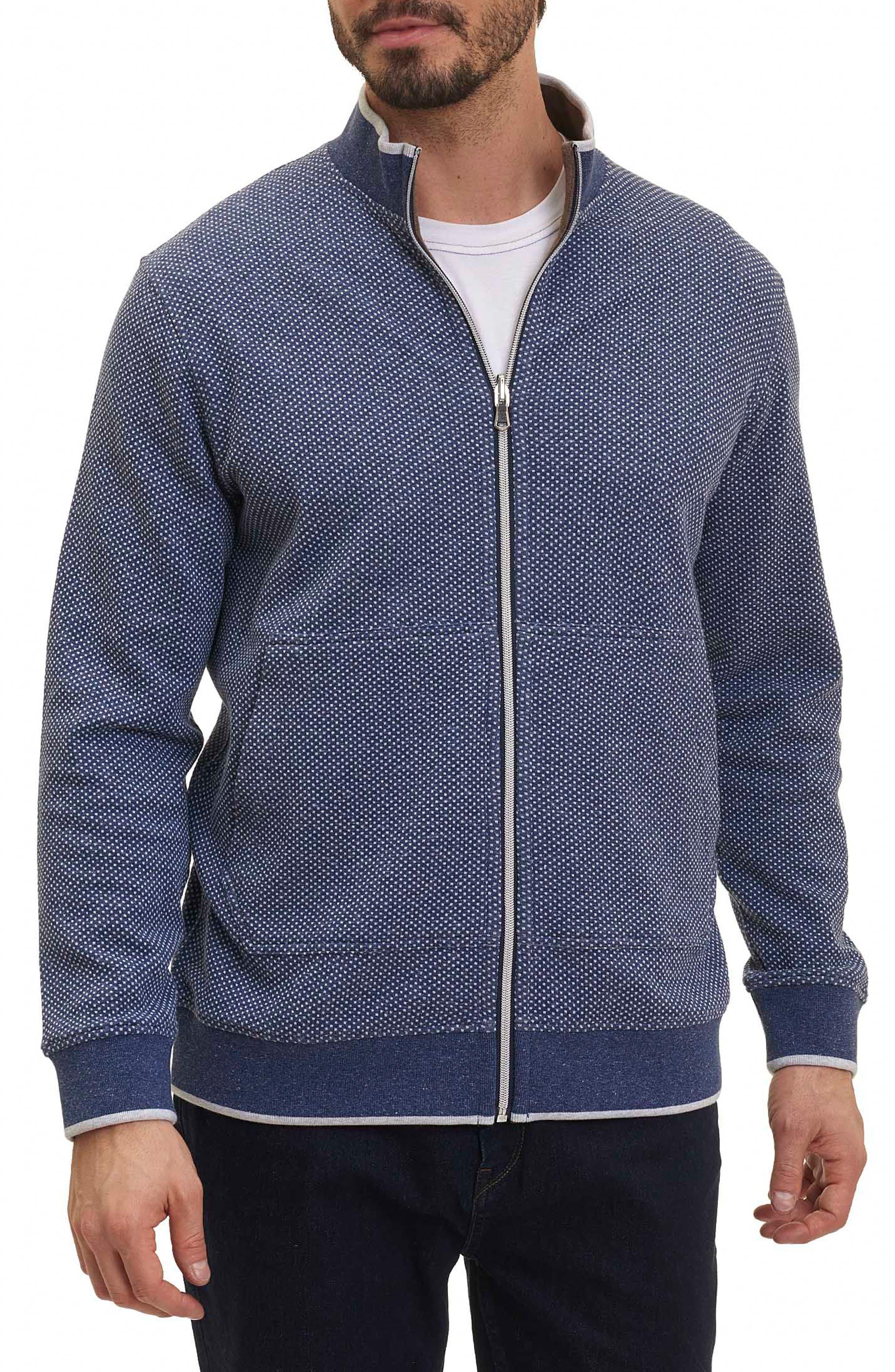 Jyoti Knit Zip Jacket,                         Main,                         color, Navy