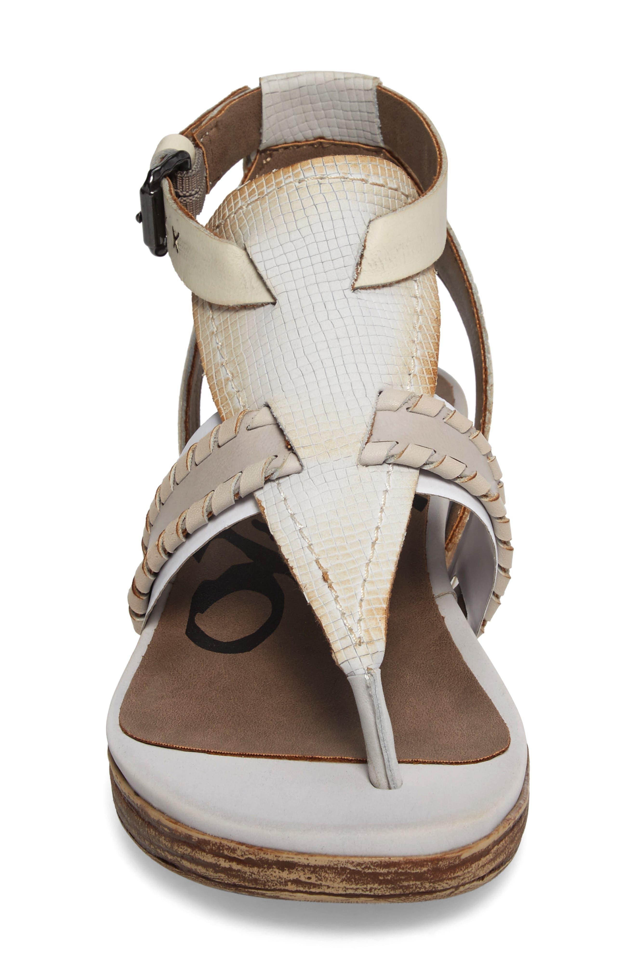 Alternate Image 4  - OTBT Celestial V-Strap Wedge Sandal (Women)