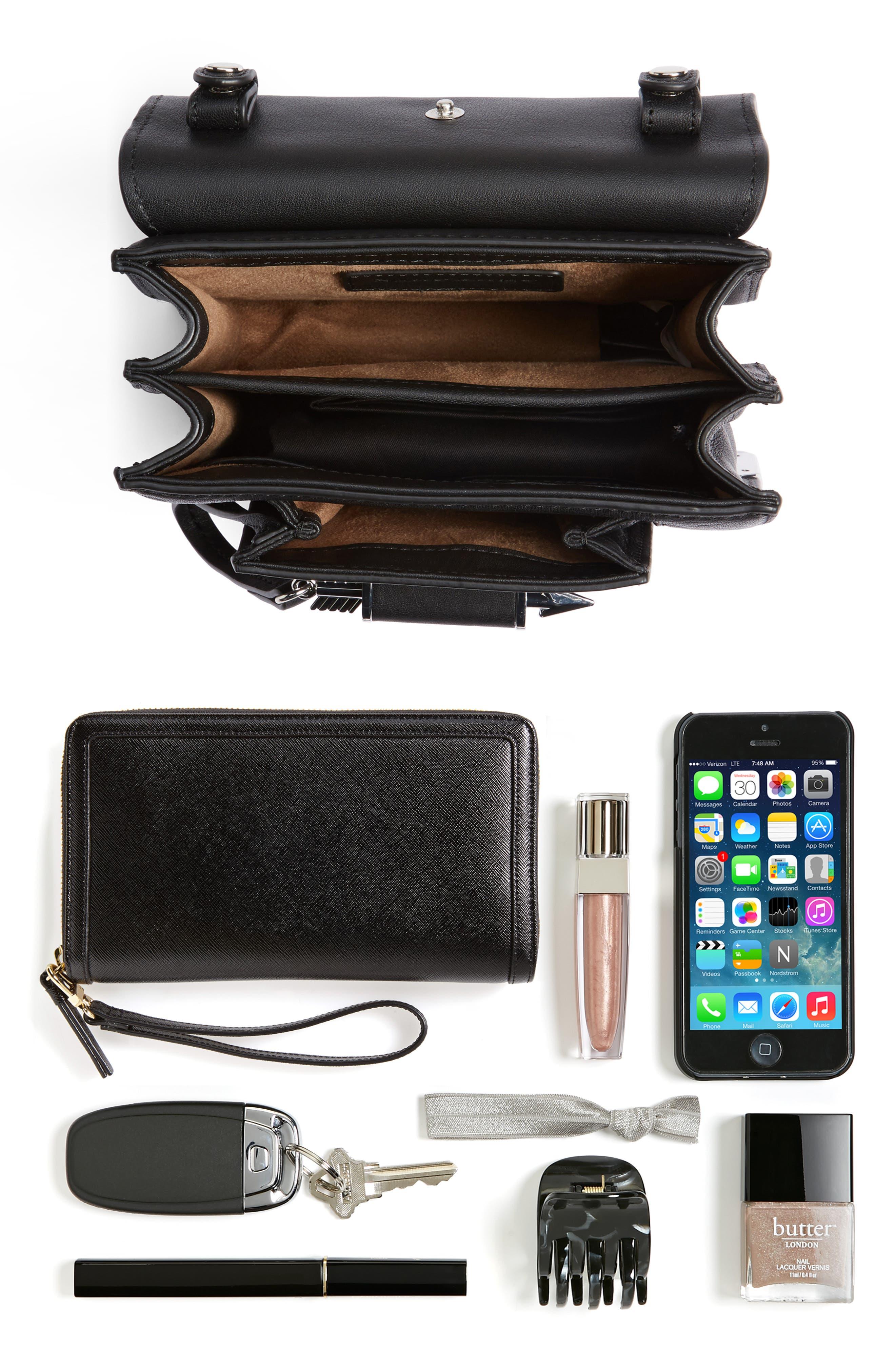 Alternate Image 7  - Mackage Mini Rubie Leather Shoulder Bag