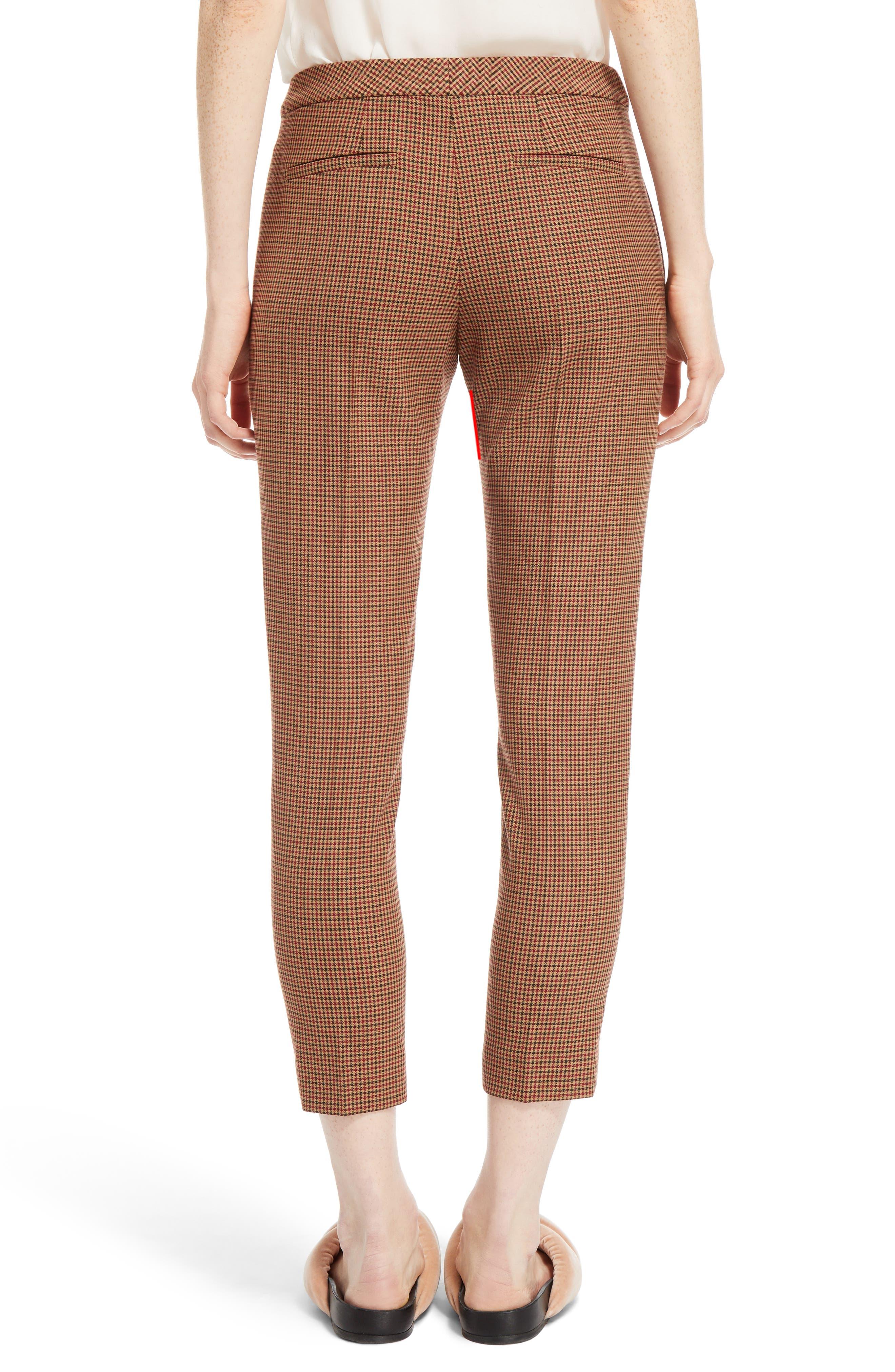 Alternate Image 2  - Chloé Check Crop Pants
