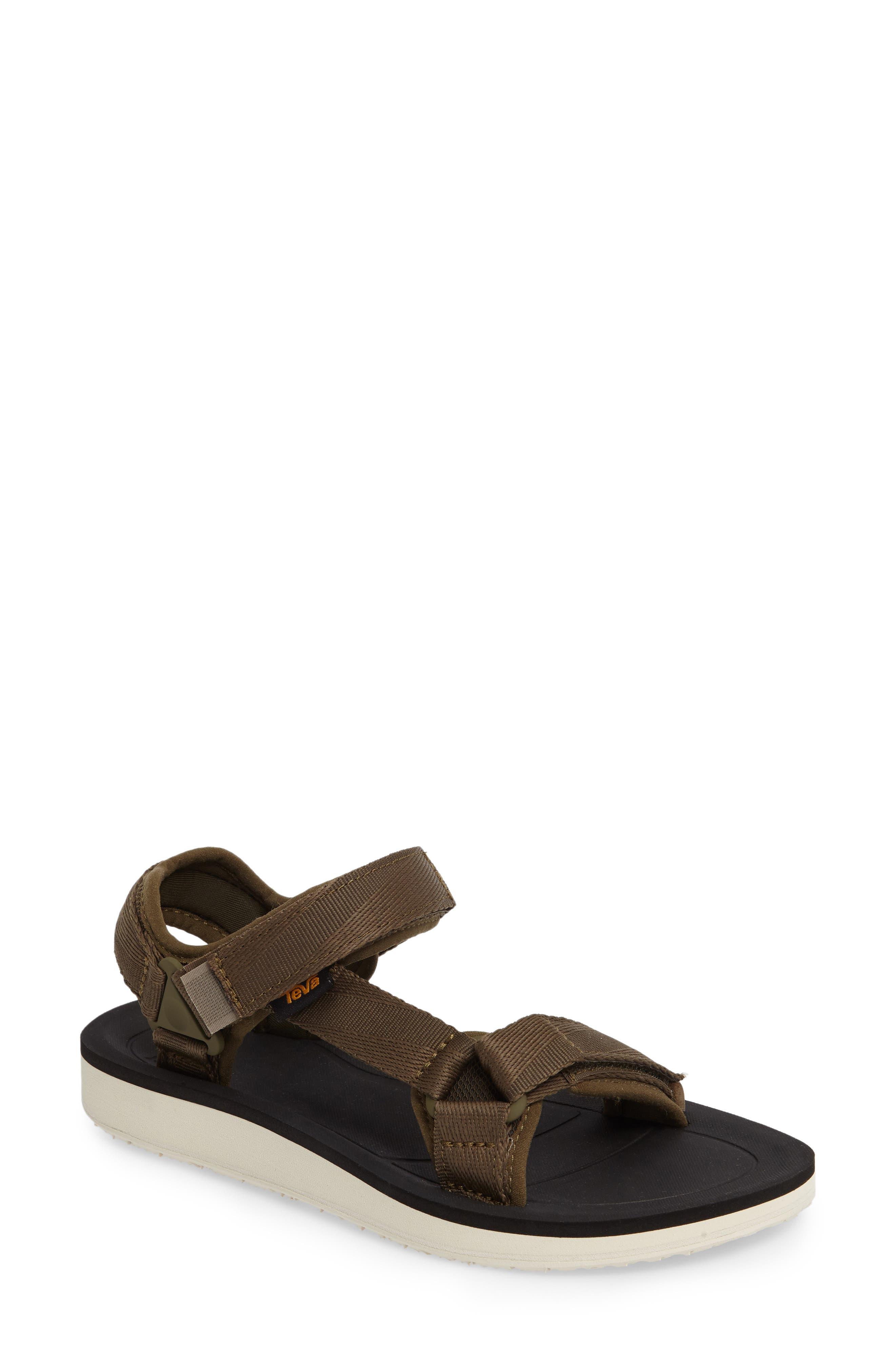 Original Universal Premier Sandal,                         Main,                         color, Olive Fabric